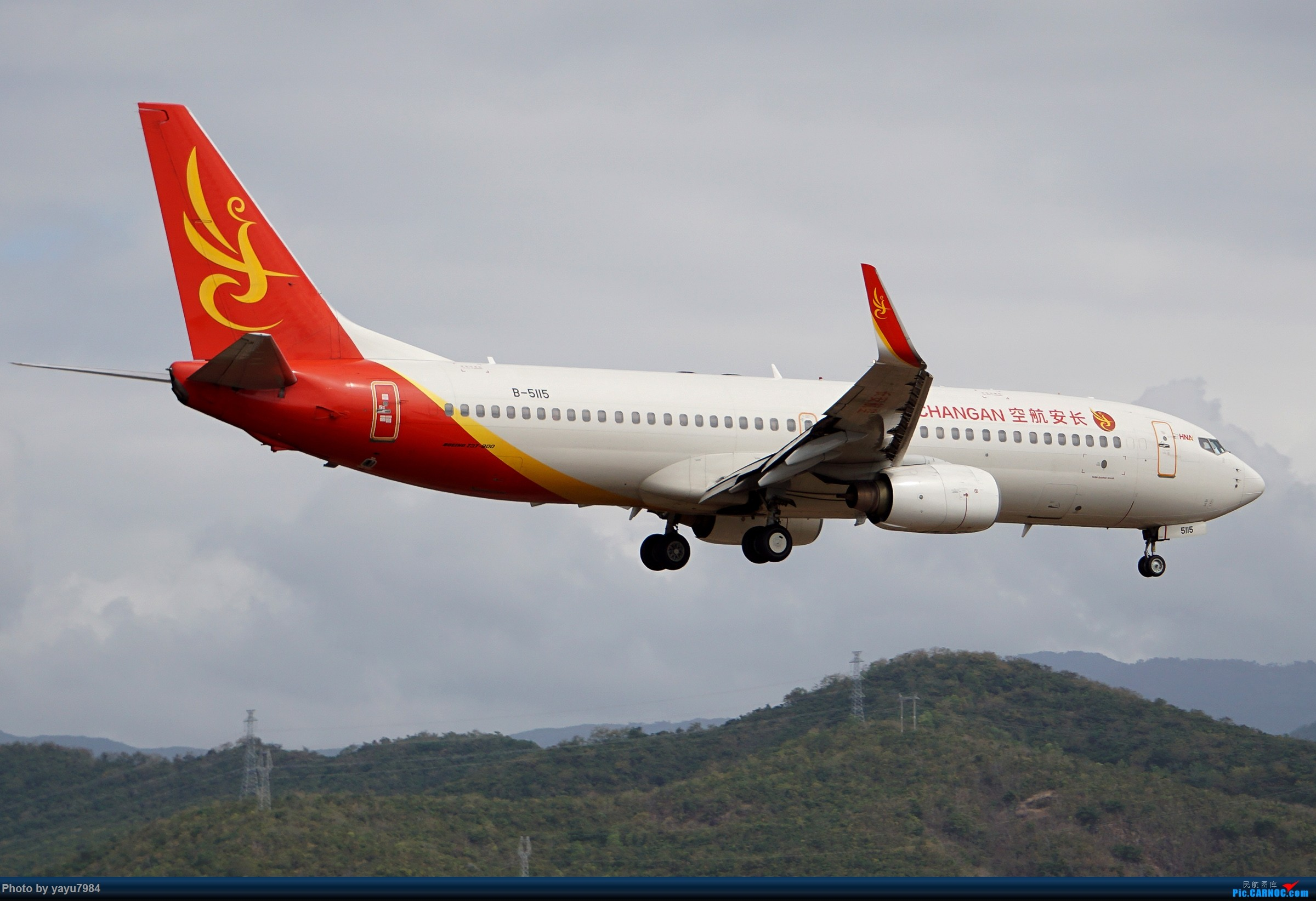 Re:[原创][SYX] 回国首拍,春运高峰时段的三亚凤凰国际机场 BOEING 737-800 B-5115 中国三亚凤凰国际机场