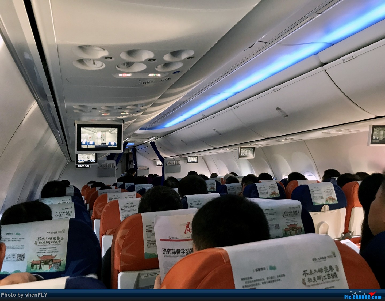 Re:[原创]【孔雀彩绘73G】NKG-KMG A332 C舱 & LJG-SHA B73G 孔雀彩绘 BOEING 737-700 B-6141 中国丽江三义机场