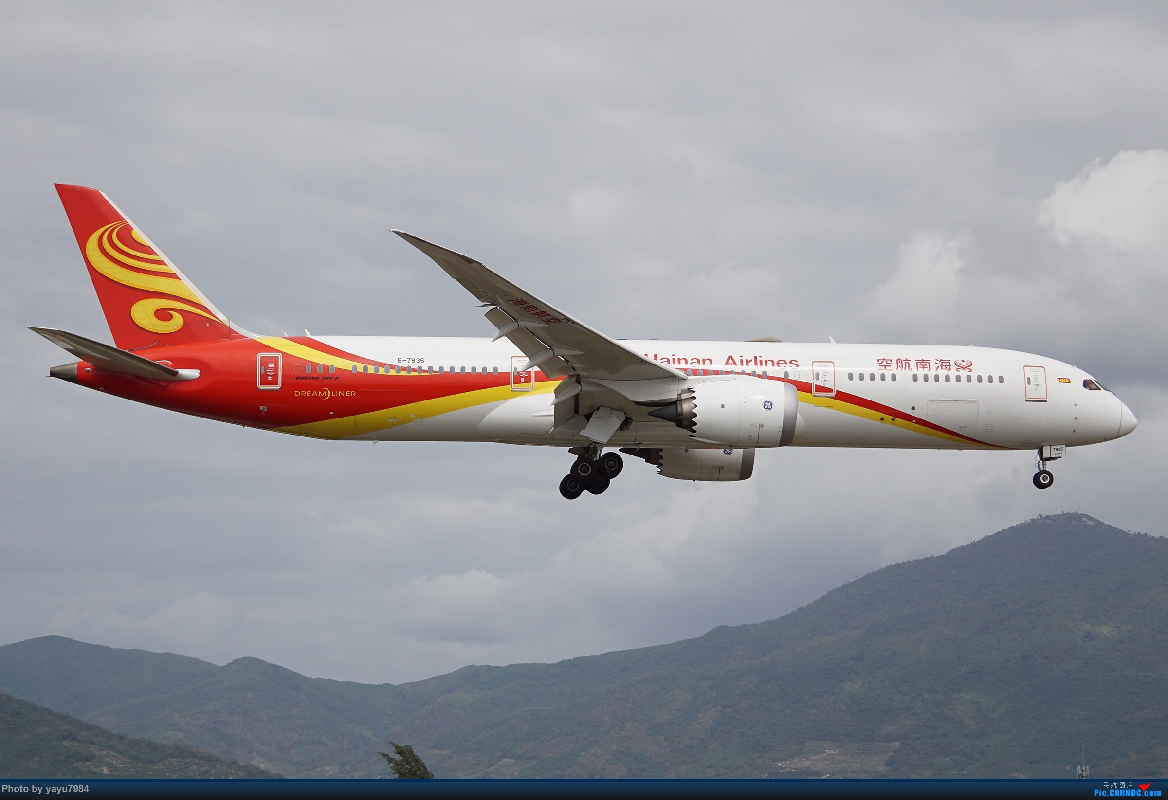 Re:[原创][SYX] 回国首拍,春运高峰时段的三亚凤凰国际机场 BOEING 787-9 B-7835 中国三亚凤凰国际机场