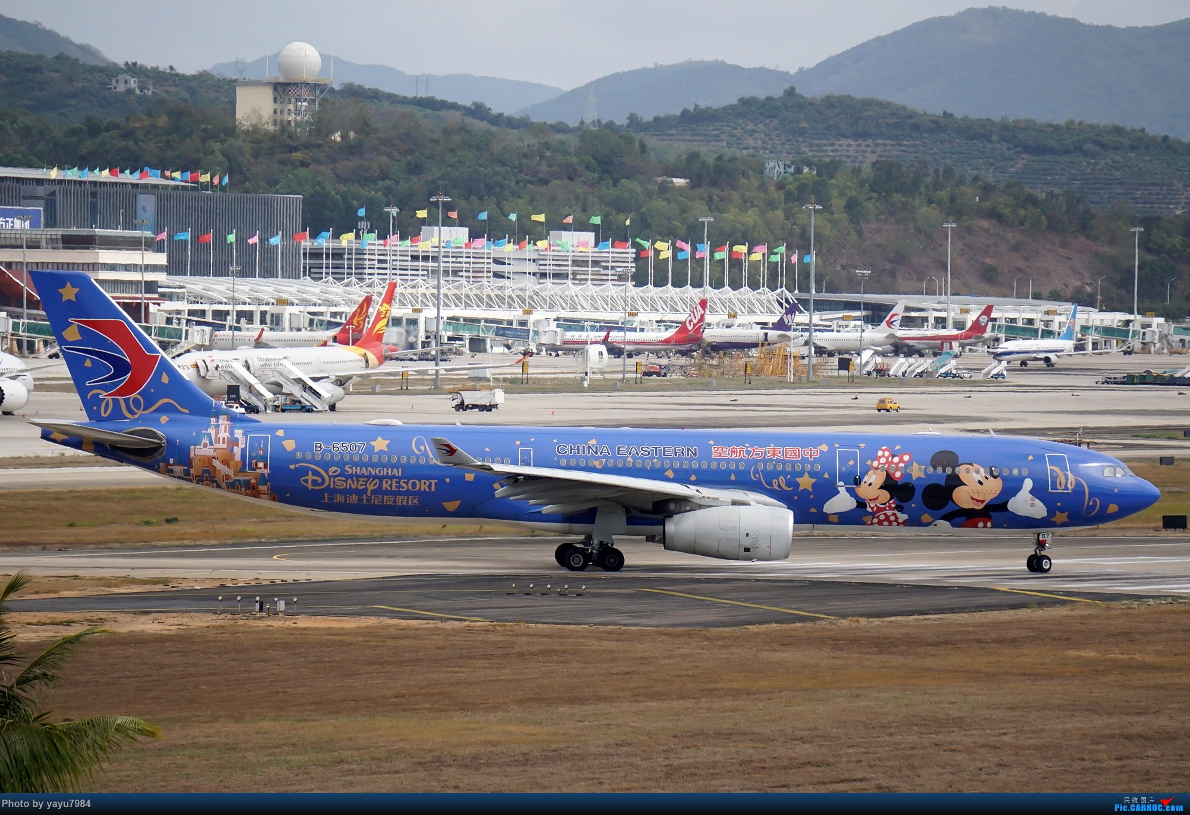 Re:[原创][SYX] 回国首拍,春运高峰时段的三亚凤凰国际机场 AIRBUS A330-300 B-6507 中国三亚凤凰国际机场