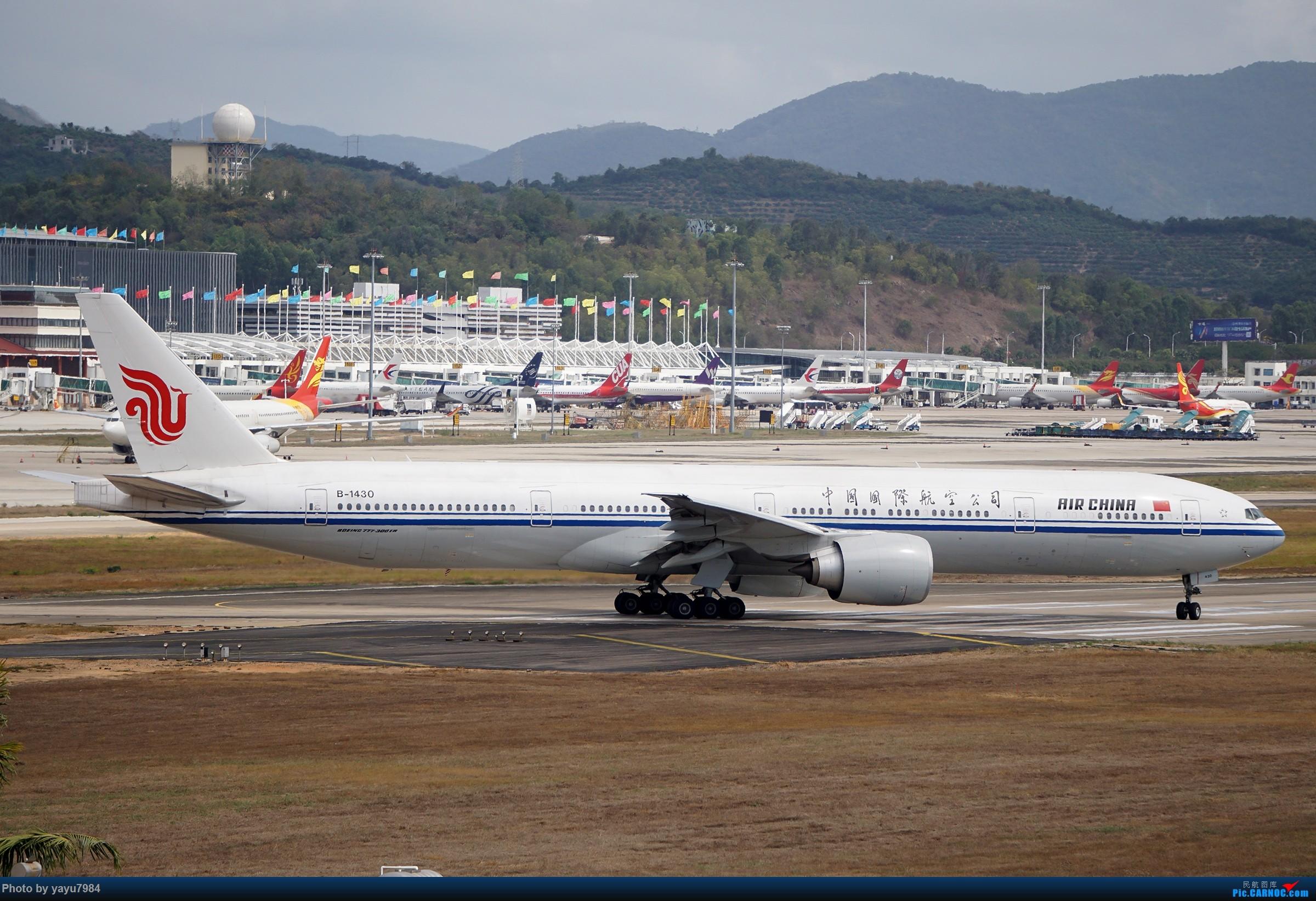 Re:[原创][SYX] 回国首拍,春运高峰时段的三亚凤凰国际机场 BOEING 777-300ER B-1430 中国三亚凤凰国际机场