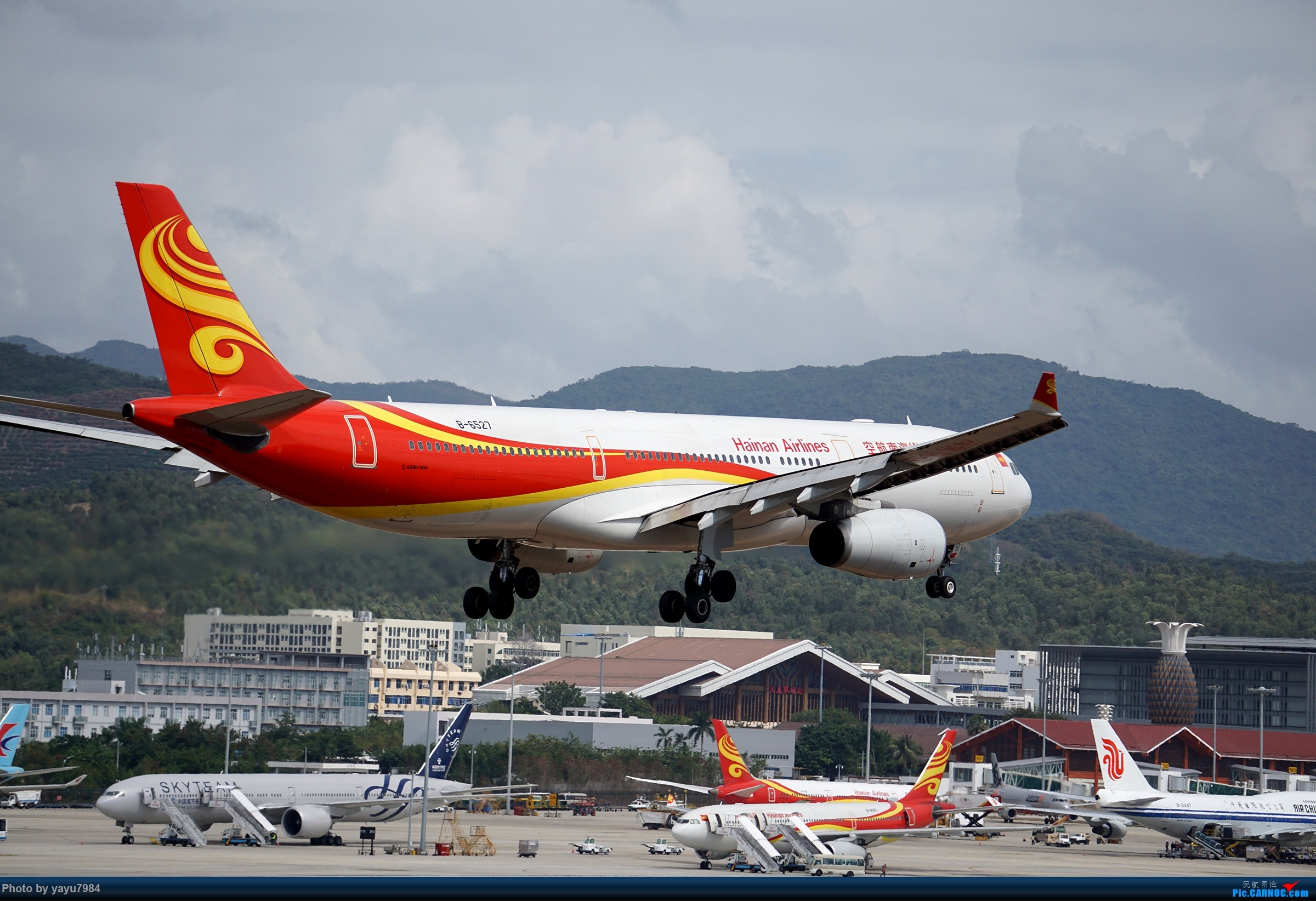 Re:[原创][SYX] 回国首拍,春运高峰时段的三亚凤凰国际机场 AIRBUS A330-300 B-6527 中国三亚凤凰国际机场