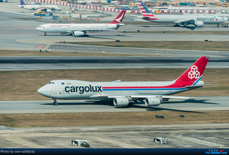 Re:货机一组 BOEING 747-8F LX-VCG 香港国际机场