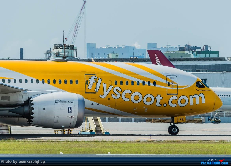 Re:[原创]高雄机场拍飞机 BOEING 787 9V-OFE 高雄国际机场