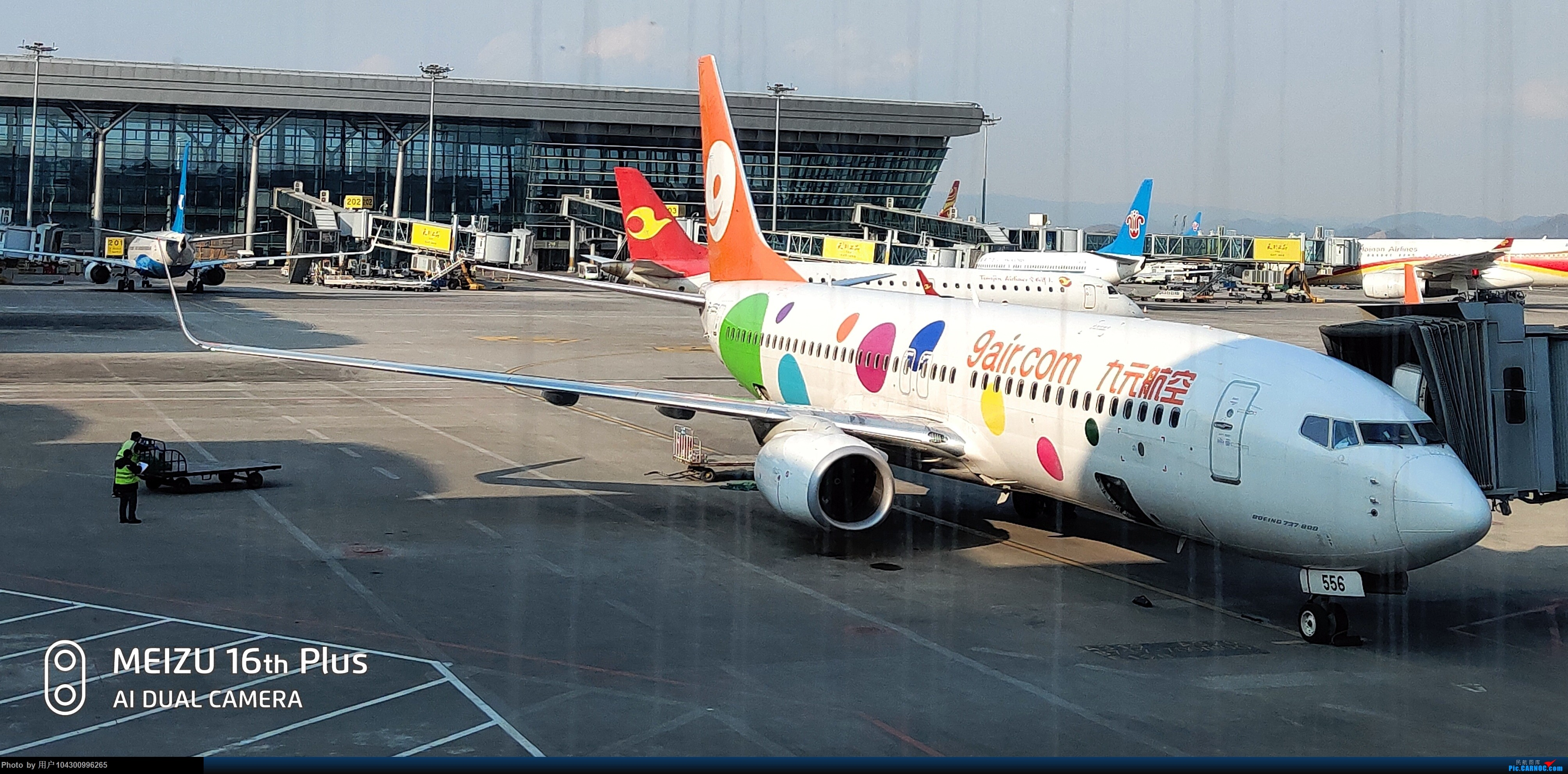 Re:[原创]囧途之贵阳--南京--杭州--贵阳 BOEING 737-800 B-1556 中国贵阳龙洞堡国际机场