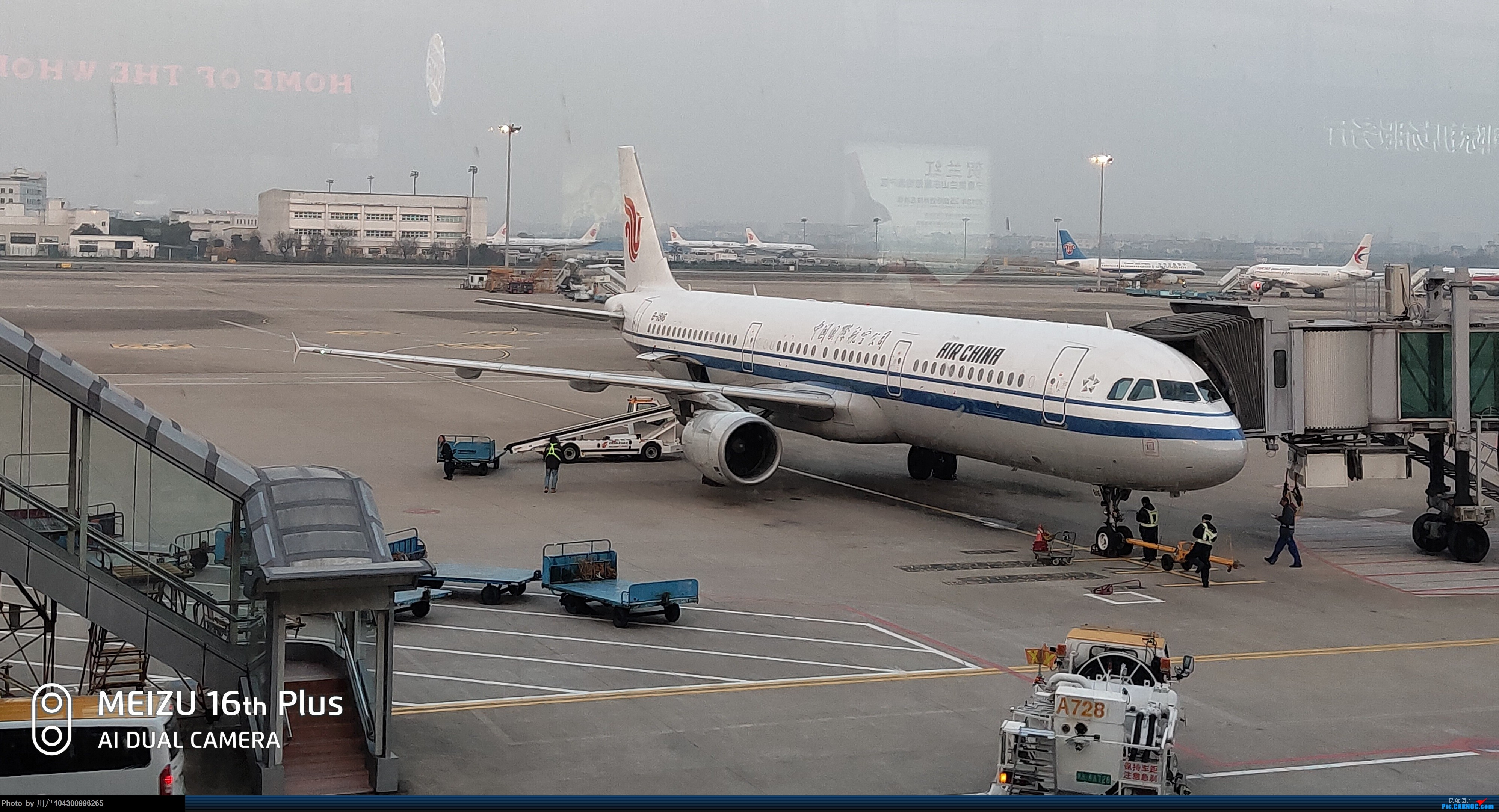 Re:[原创]囧途之贵阳--南京--杭州--贵阳 AIRBUS A321-200 B-1816 中国杭州萧山国际机场