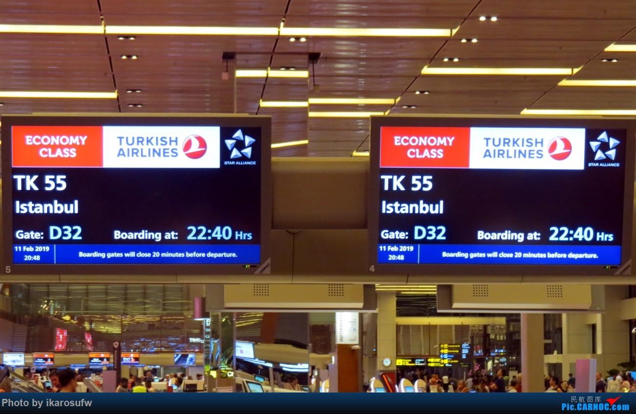 [原创]再次土航 最后的阿塔图尔克 新加坡-伊斯坦布尔-日内瓦往返全纪录 土耳其航空 TK54/55 TK1917/1920 77W 738 321(上)