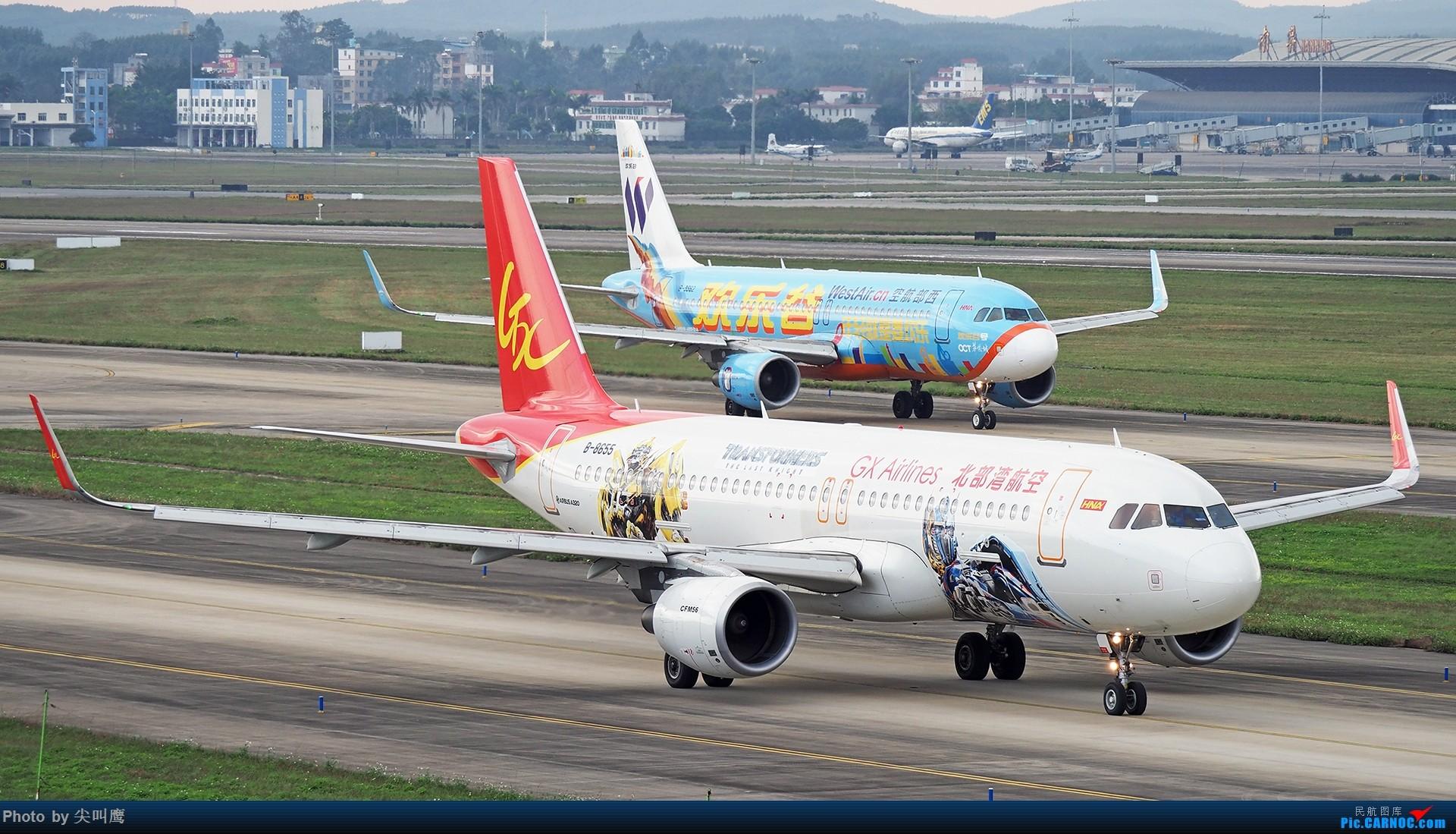 [原创]西部-北部共同发展 AIRBUS A320-200 B-8655 中国南宁吴圩国际机场