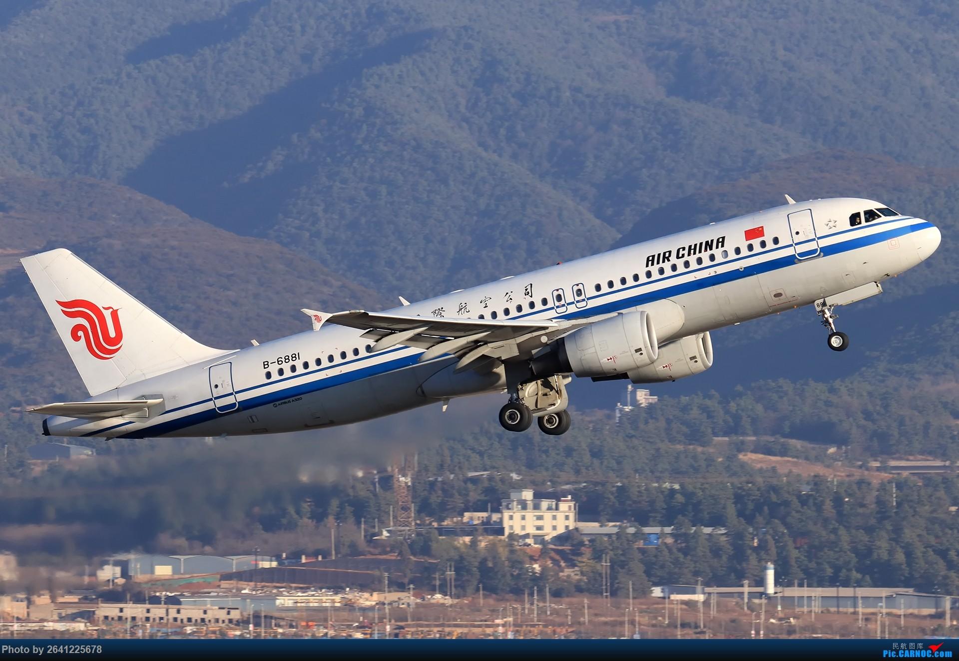 [原创]再来一组昆明 AIRBUS A320-200 B-6881 中国昆明长水国际机场