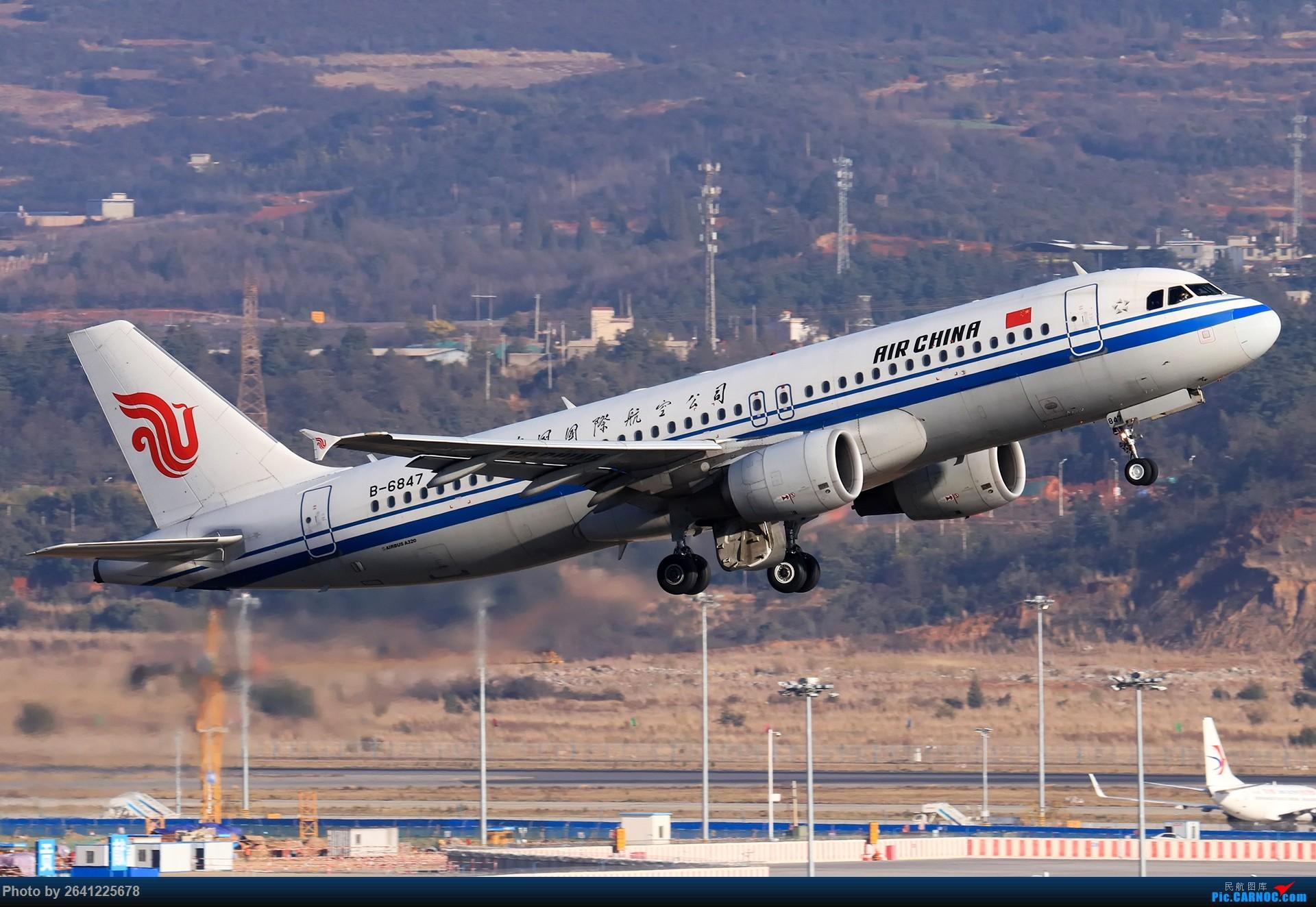 Re:[原创]再来一组昆明 AIRBUS A320-200 B-6847 中国昆明长水国际机场