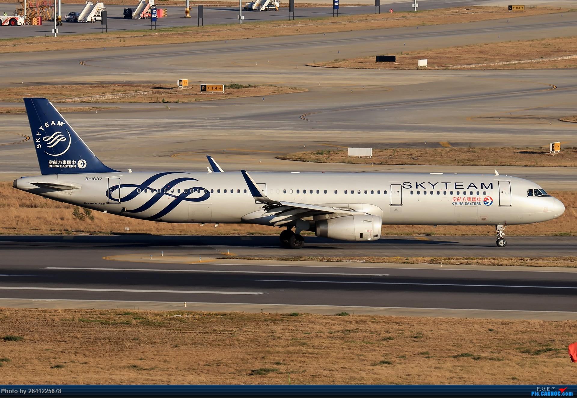 Re:[原创]再来一组昆明 AIRBUS A321-200 B-1837 中国昆明长水国际机场