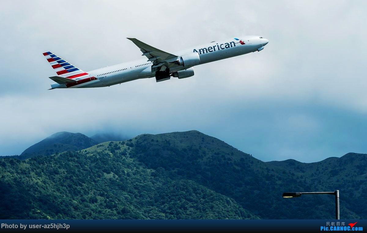 Re:[原创]南环路拍机所见 BOEING 777-300ER N731AN 香港国际机场