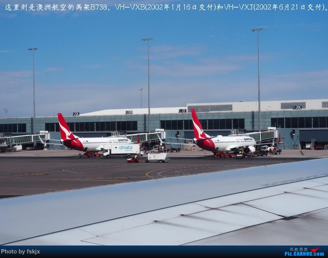 【fskjx的飞行游记☆67】在土澳的9天——阿德莱德·墨尔本 BOEING 737-800 VH-VXB 澳大利亚阿德莱德机场