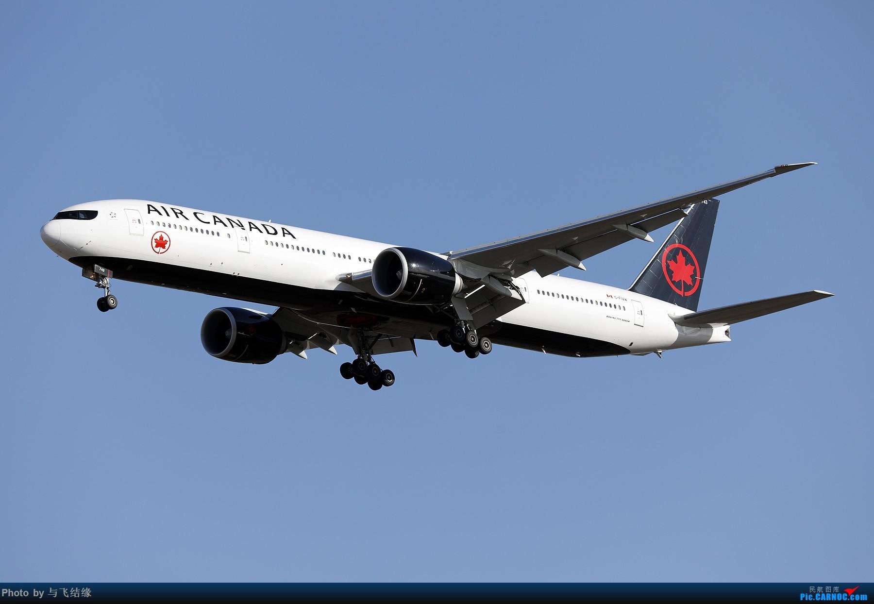 Re:[原创]以色列航空波音777-200、加拿大航空波音77W新装、国航最新空客350-900. BOEING 777-300ER C-FIVW 中国北京首都国际机场