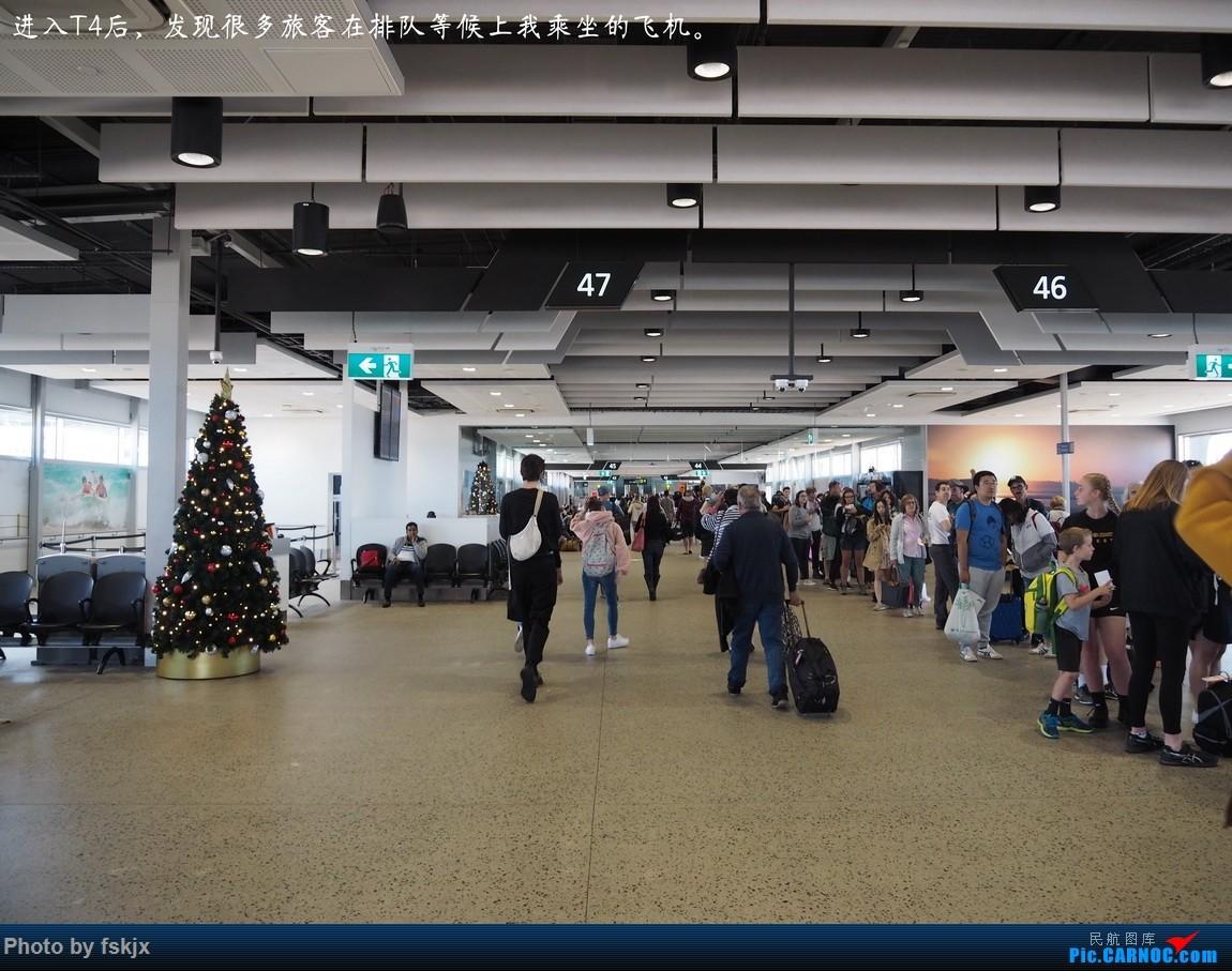 【fskjx的飞行游记☆67】在土澳的9天——阿德莱德·墨尔本    澳大利亚墨尔本机场