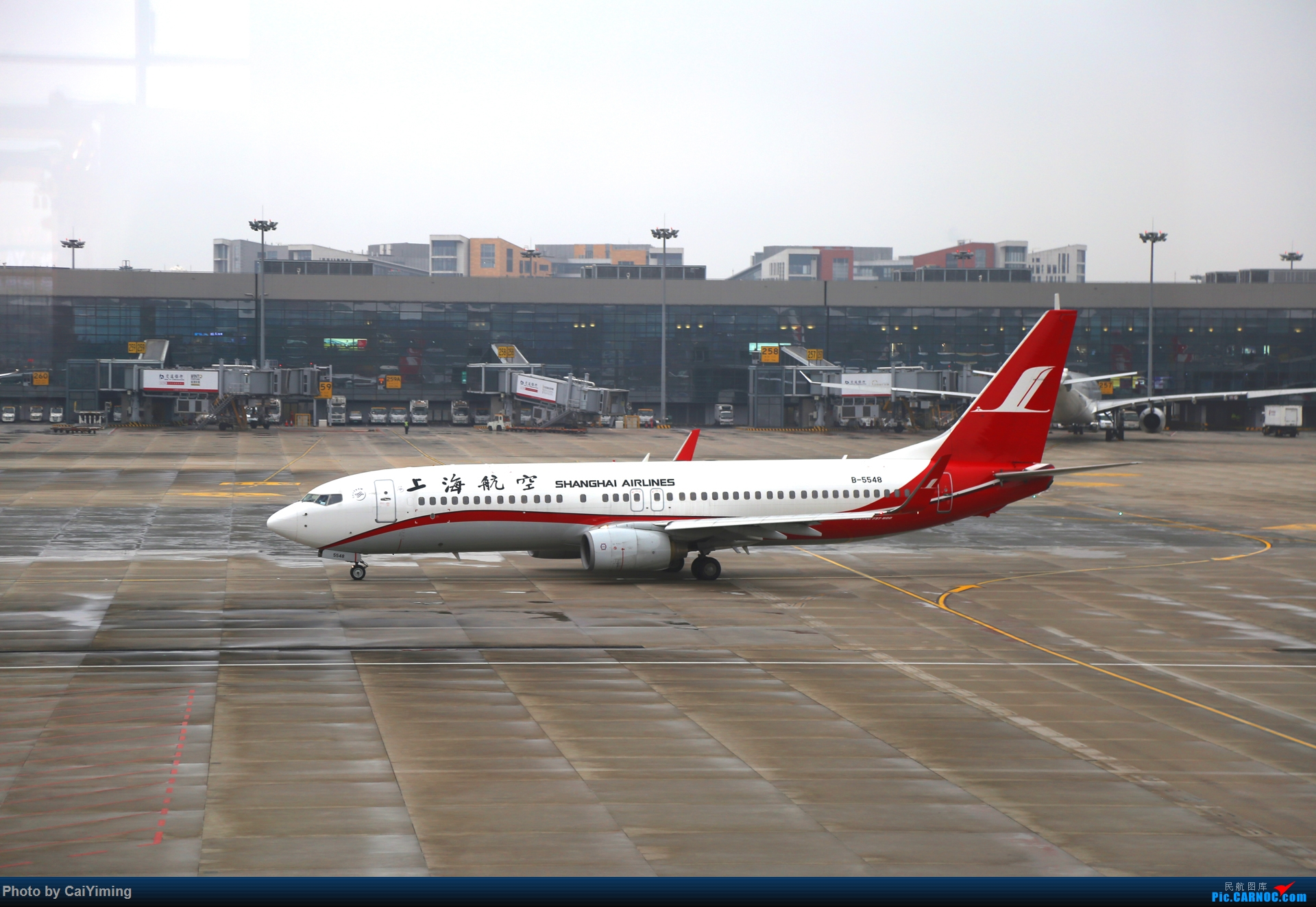 Re:[原创]【人在旅途】成都-浦东-虹桥-西安-南通-成都(3U+MU空客A359体验) BOEING 737-800 B-5548 中国上海虹桥国际机场