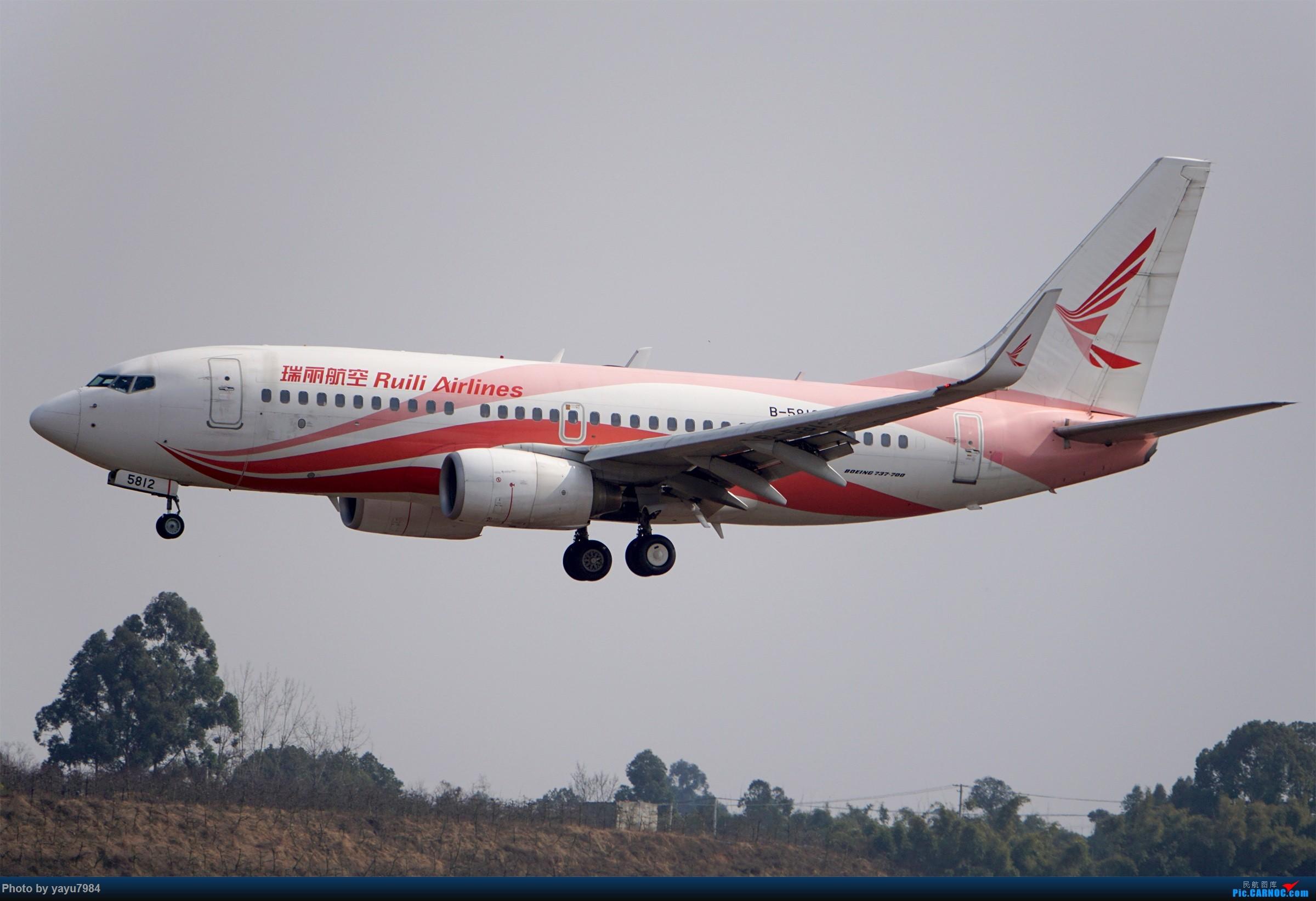 Re:[原创][CTU] 成卢兹02R拍机集锦 BOEING 737-700 B-5812 中国成都双流国际机场