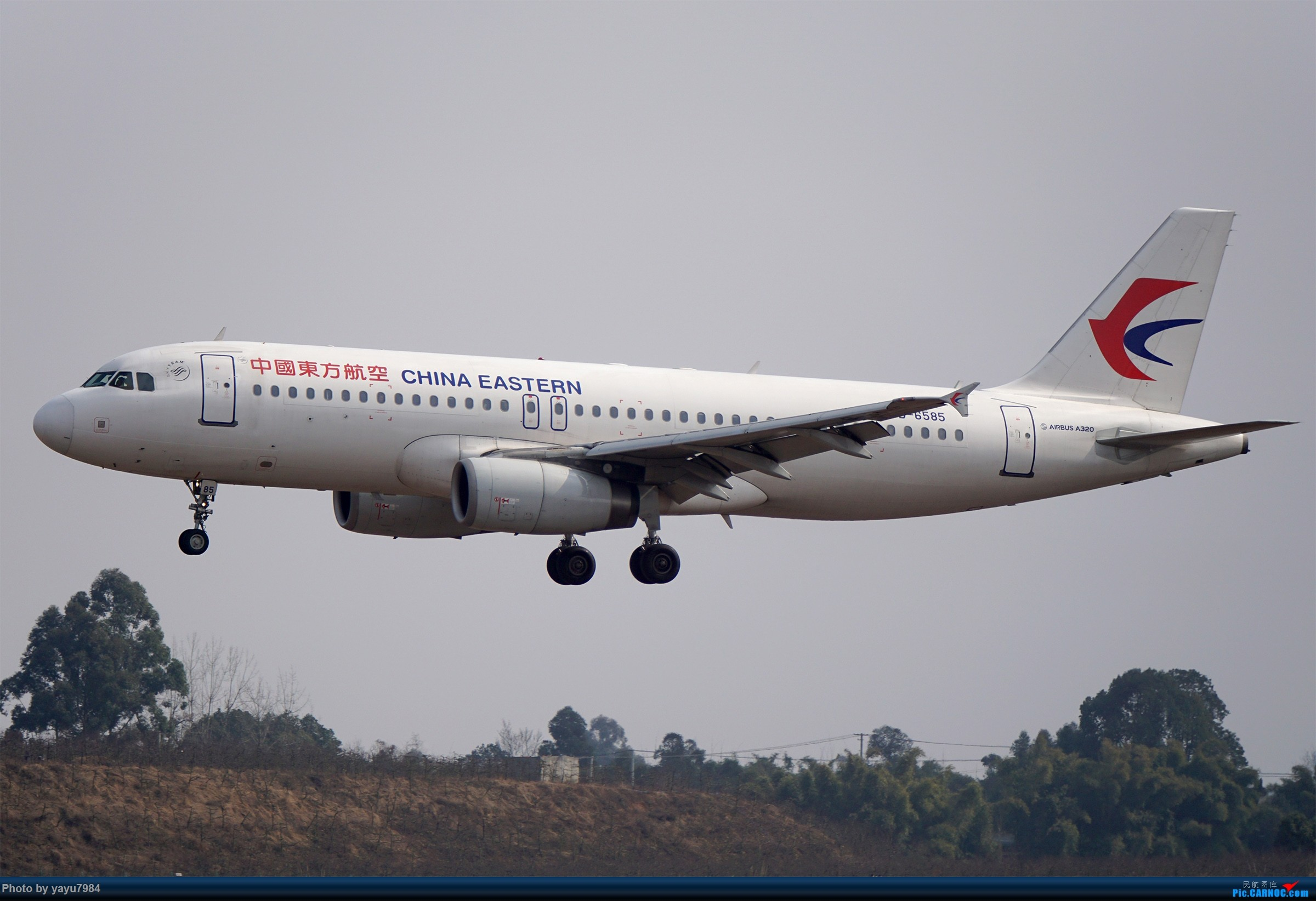 Re:[原创][CTU] 成卢兹02R拍机集锦 AIRBUS A320-200 B-6585 中国成都双流国际机场