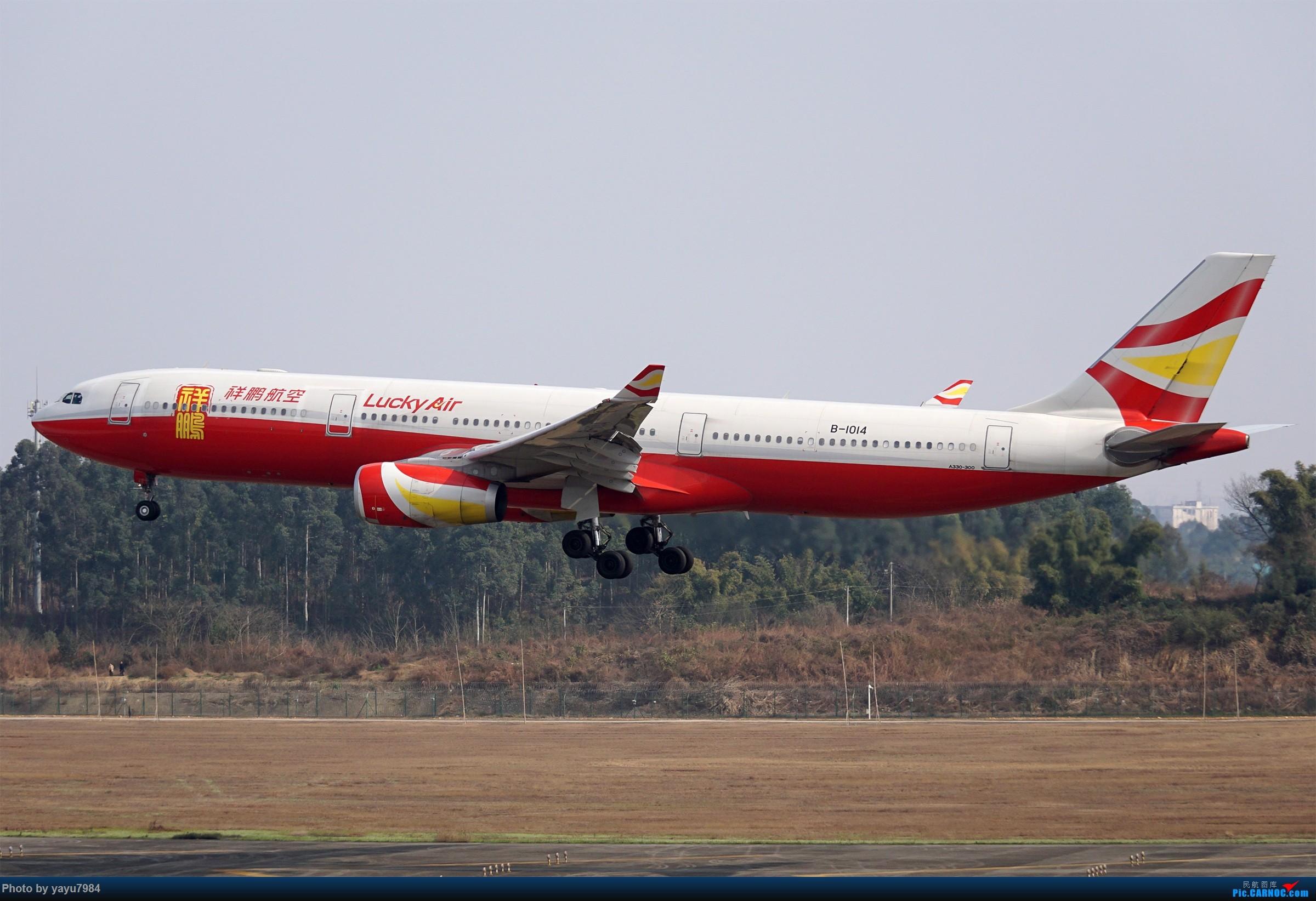 Re:[原创][CTU] 成卢兹02R拍机集锦 AIRBUS A330-300 B-1014 中国成都双流国际机场