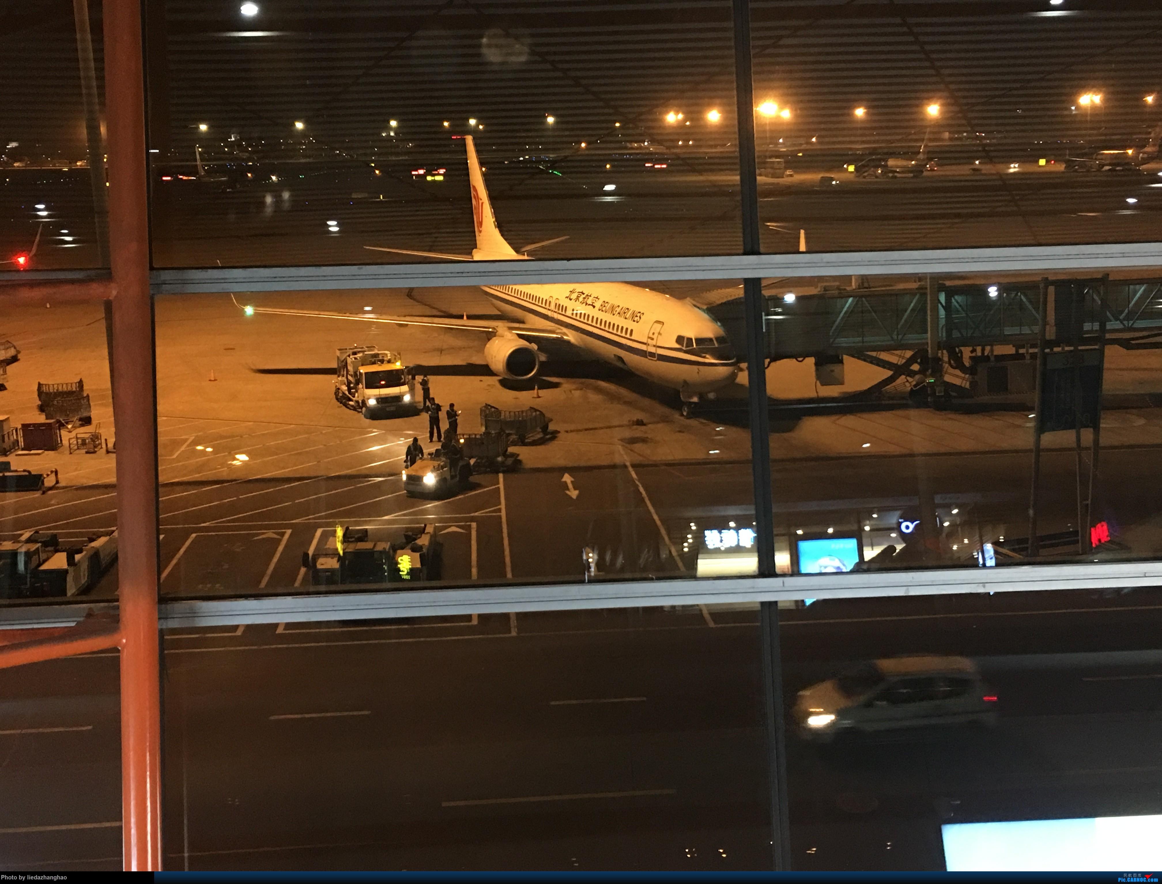 Re:[原创]PEK-CKG-PEK游记 BOEING 737-800  北京首都机场