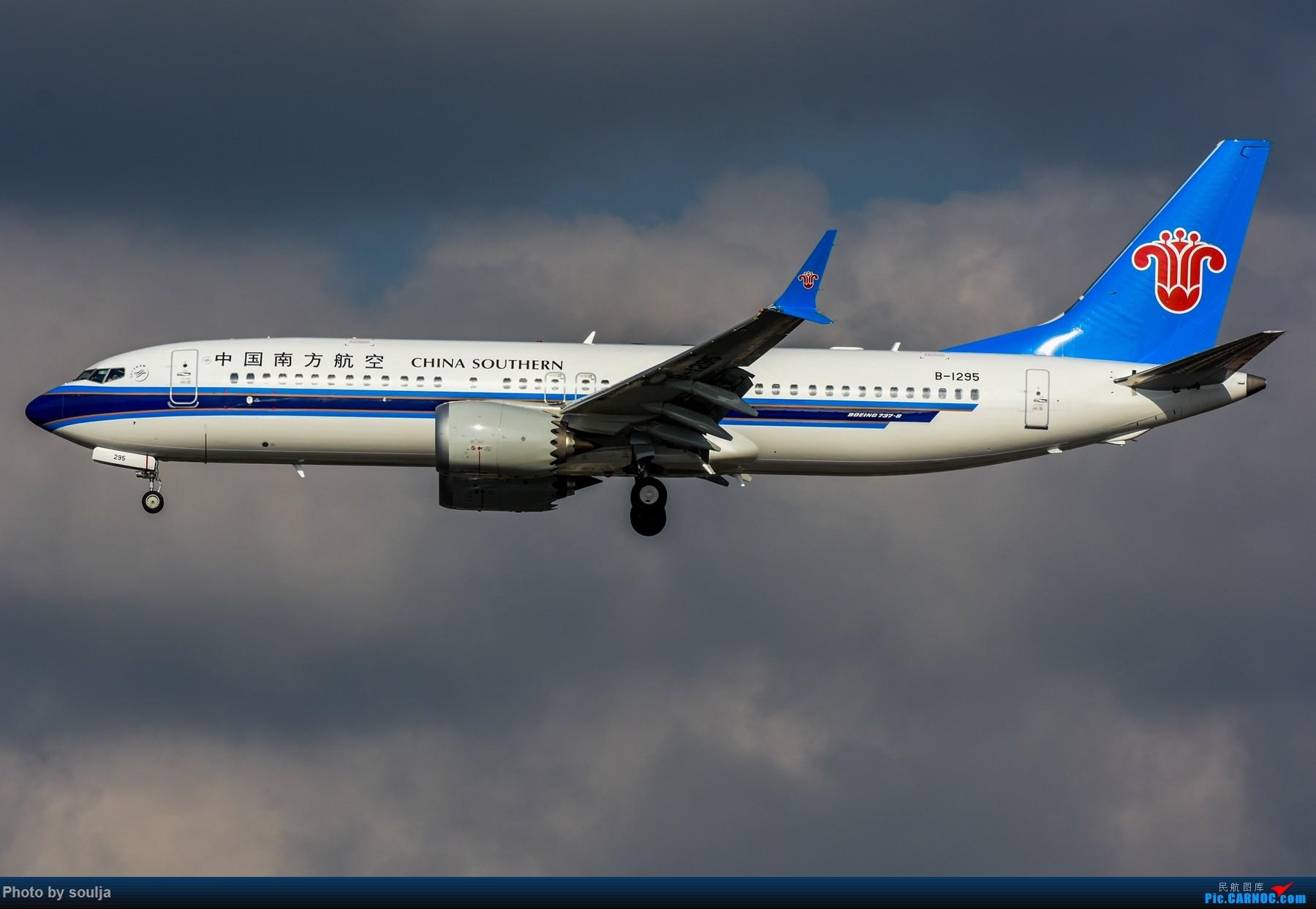 MAX BOEING 737MAX-8 B-1295 中国上海虹桥国际机场