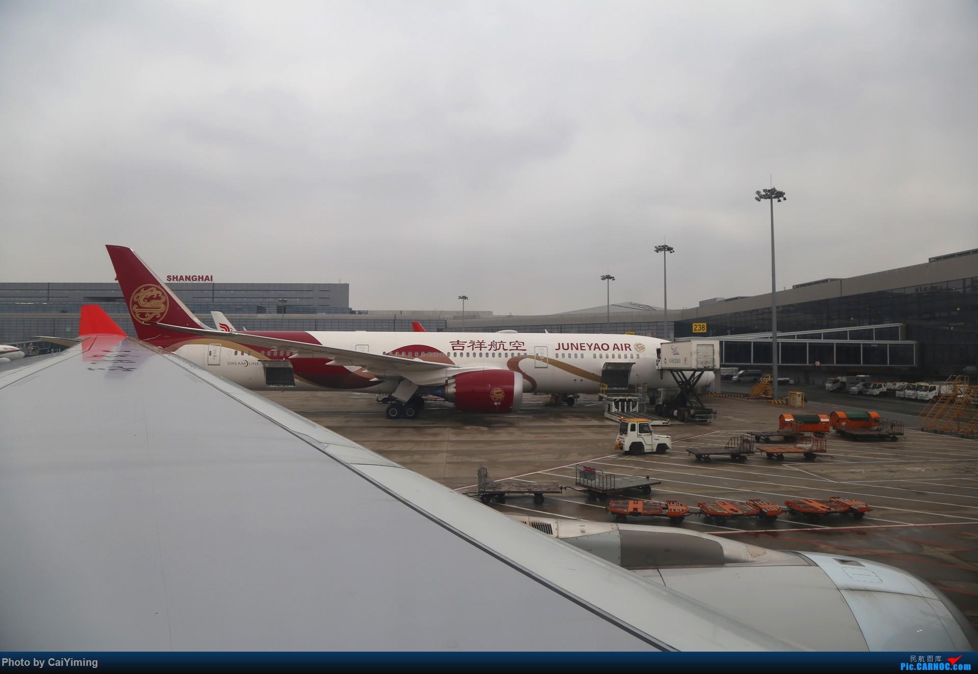 Re:[原创]【人在旅途】成都-浦东-虹桥-西安-南通-成都(3U+MU空客A359体验) BOEING 787-9 B-207N 中国上海虹桥国际机场