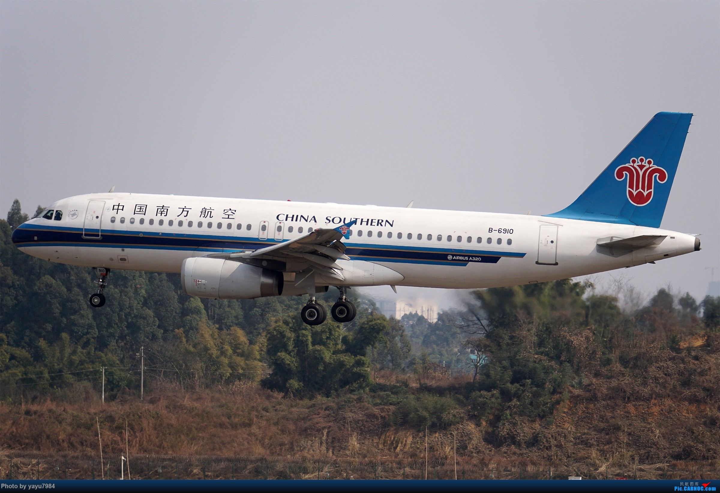 Re:[原创][CTU] 成卢兹02R拍机集锦 AIRBUS A320-200 B-6910 中国成都双流国际机场