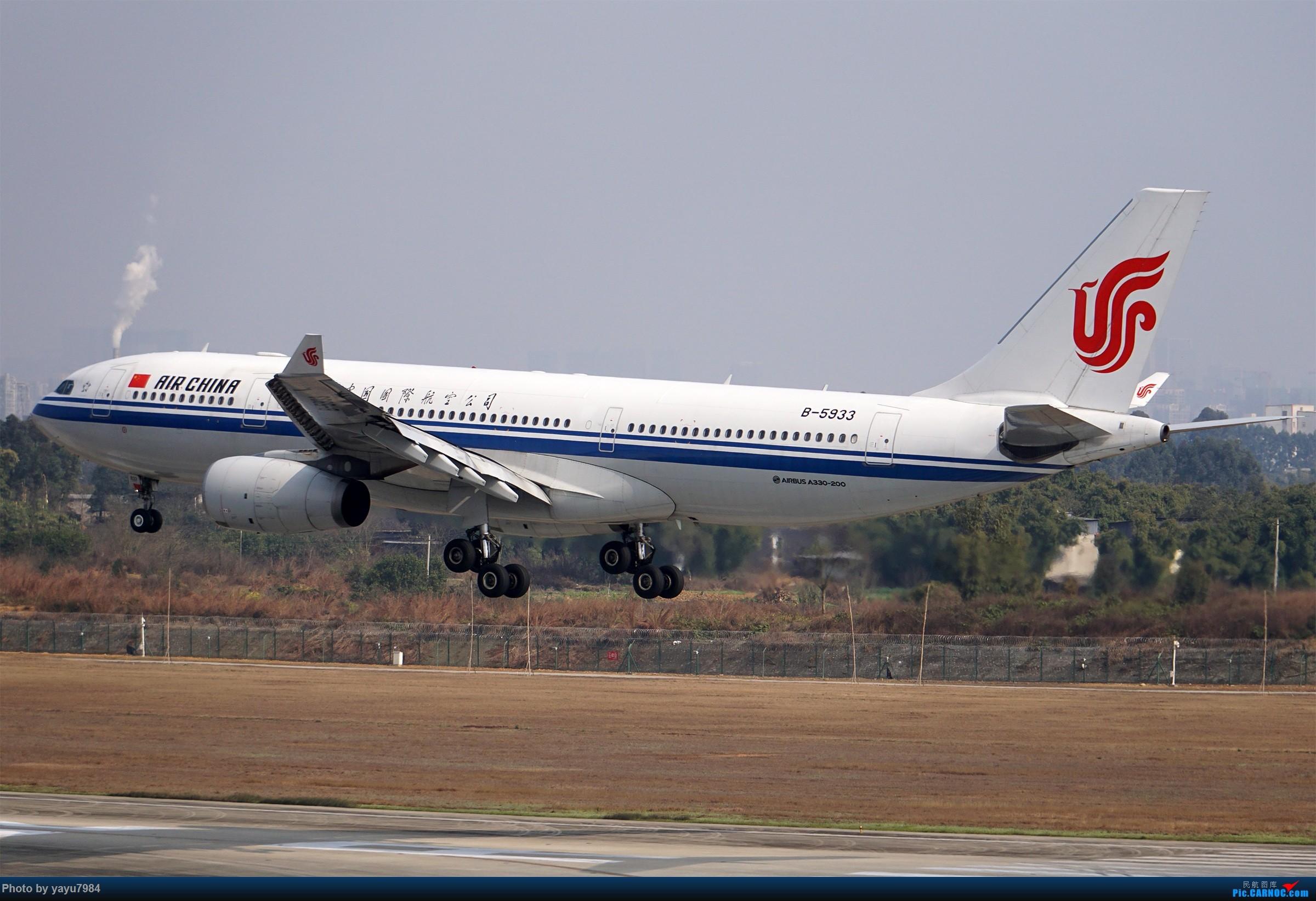 Re:[原创][CTU] 成卢兹02R拍机集锦 AIRBUS A330-200 B-5933 中国成都双流国际机场