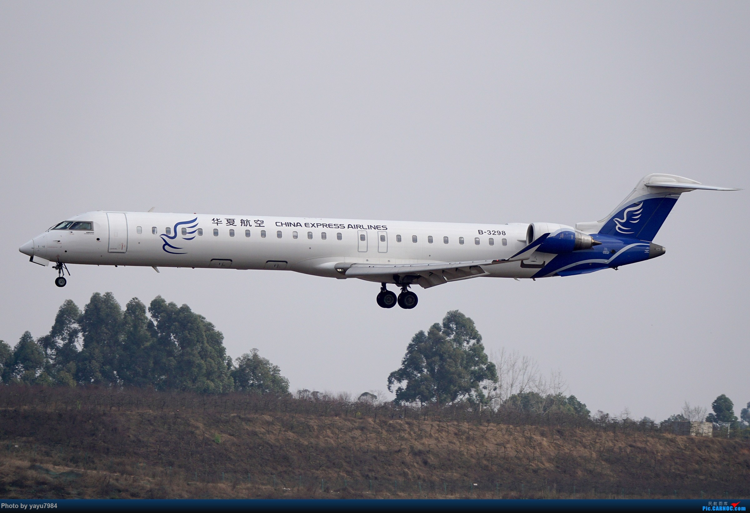 Re:[原创][CTU] 成卢兹02R拍机集锦 BOMBARDIER CRJ900NG B-3298 中国成都双流国际机场
