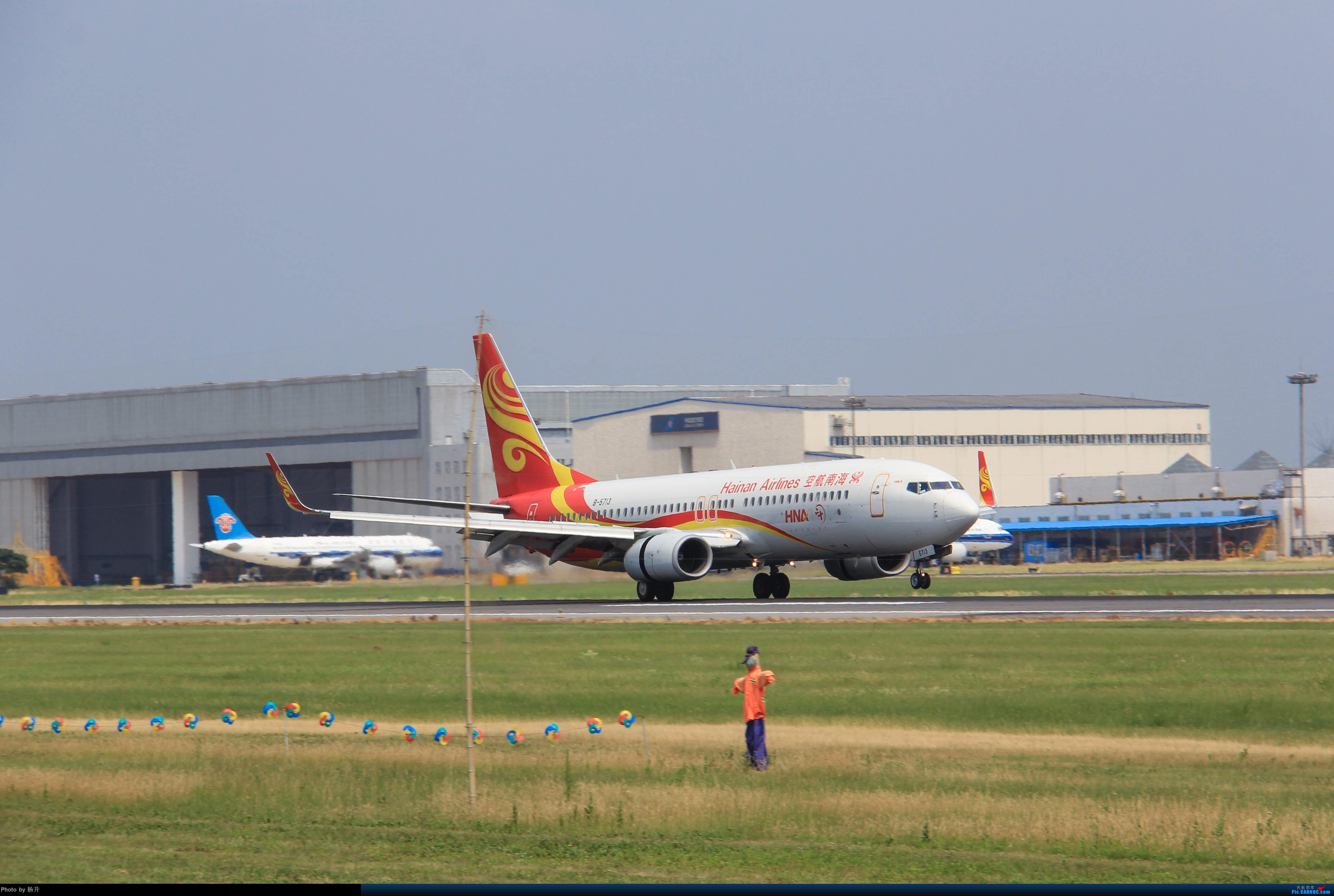Re:[原创]【SHE】沈阳桃仙国际机场拍机 BOEING 737-800 B-5713 中国沈阳桃仙国际机场