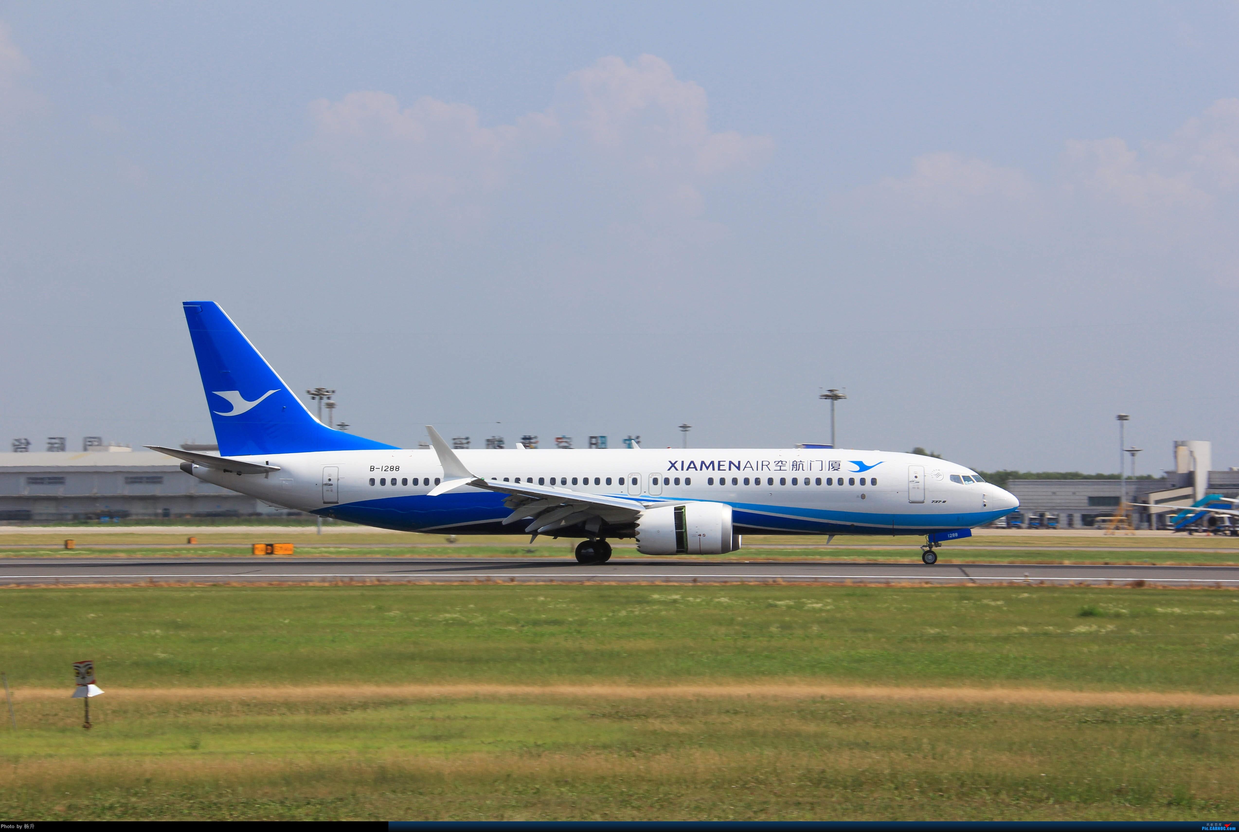 Re:[原创]【SHE】沈阳桃仙国际机场拍机 BOEING 737MAX-8 B-1288 中国沈阳桃仙国际机场
