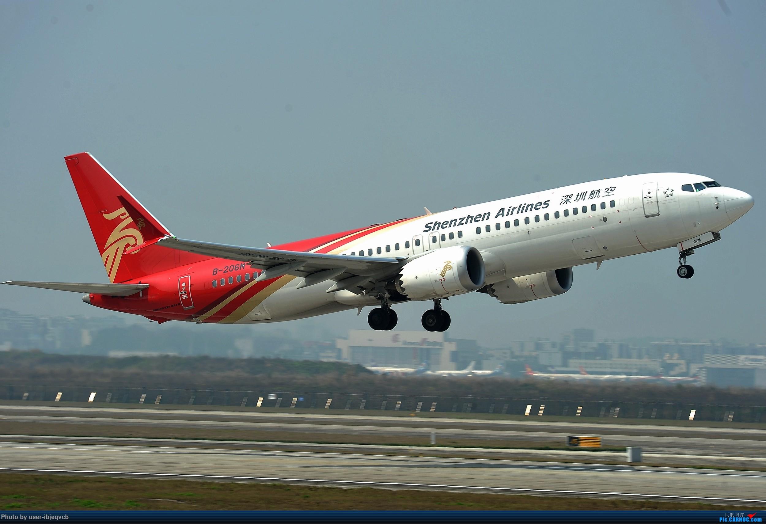 Re:[原创]今天终于加入组织了,初来乍到,请多包涵 BOEING 737MAX-8 B-206M 重庆江北国际机场