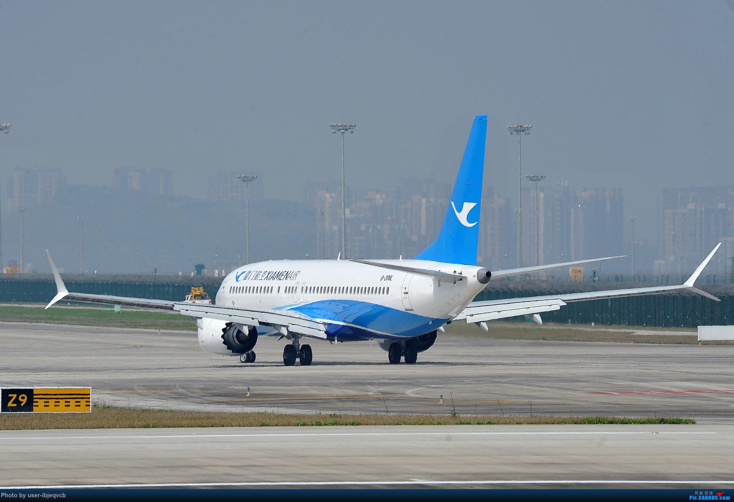 Re:[原创]今天终于加入组织了,初来乍到,请多包涵 BOEING 737MAX-8 B-208L 重庆江北国际机场