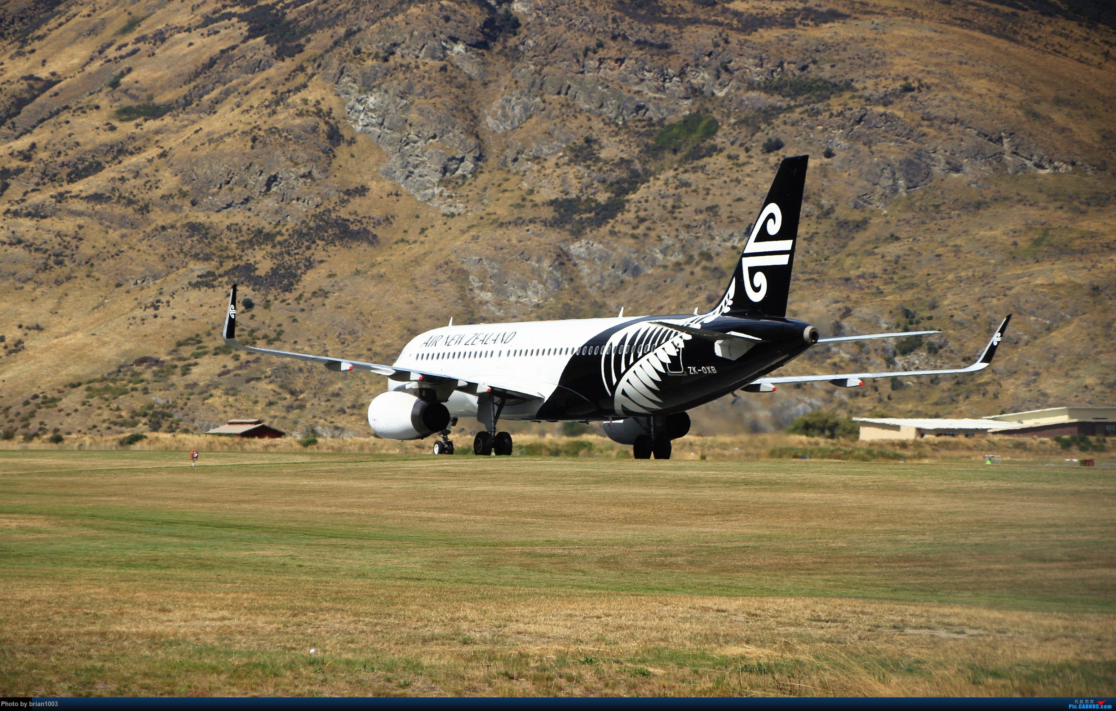 Re:[原创]CZ3347-CZ617-JQ292-CZ306-CZ659,中土之国屌丝舱自驾流水账 AIRBUS A320 ZK-OXB 新西兰皇后镇机场