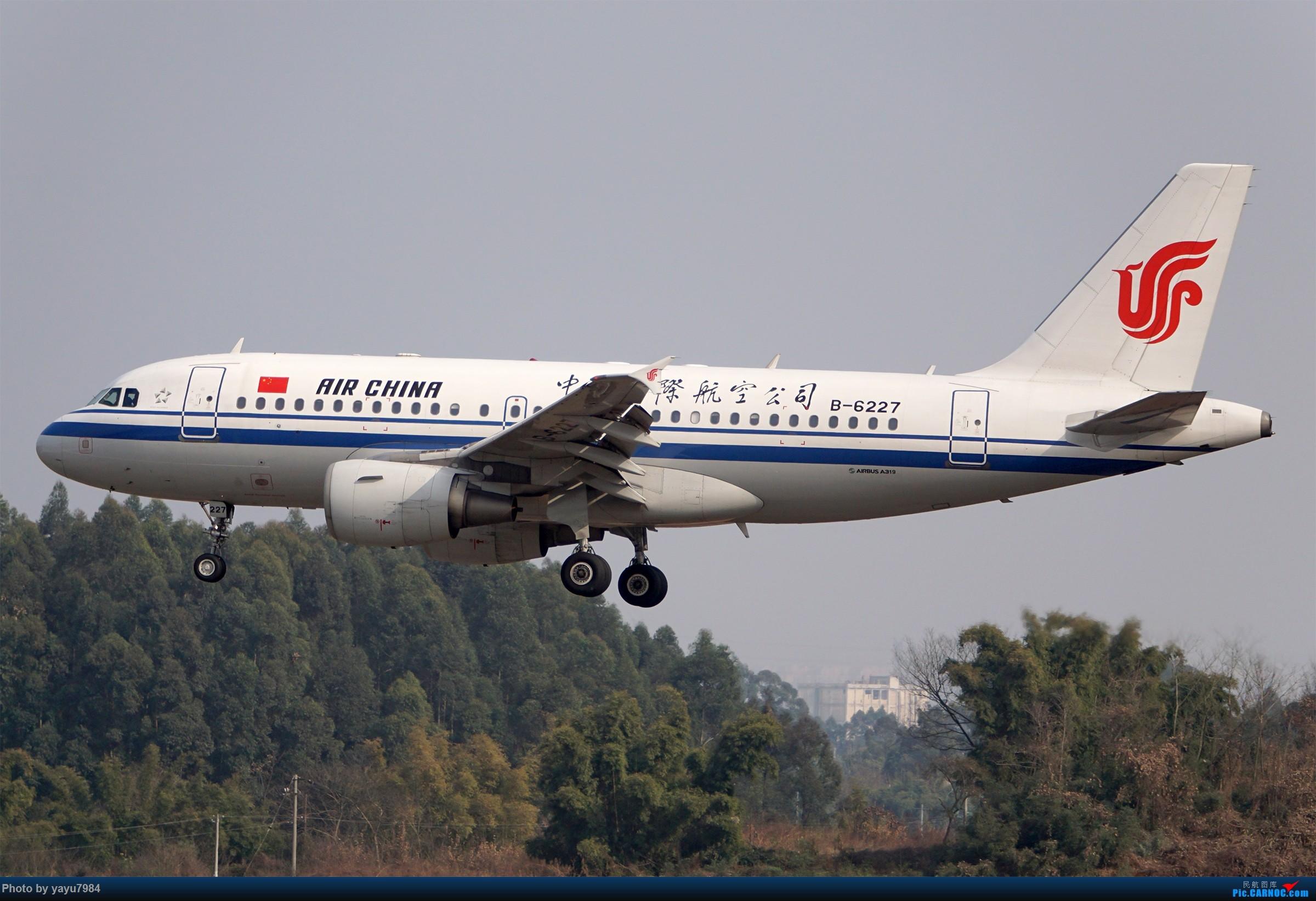 Re:[原创][CTU] 成卢兹02R拍机集锦 AIRBUS A319-100 B-6227 中国成都双流国际机场