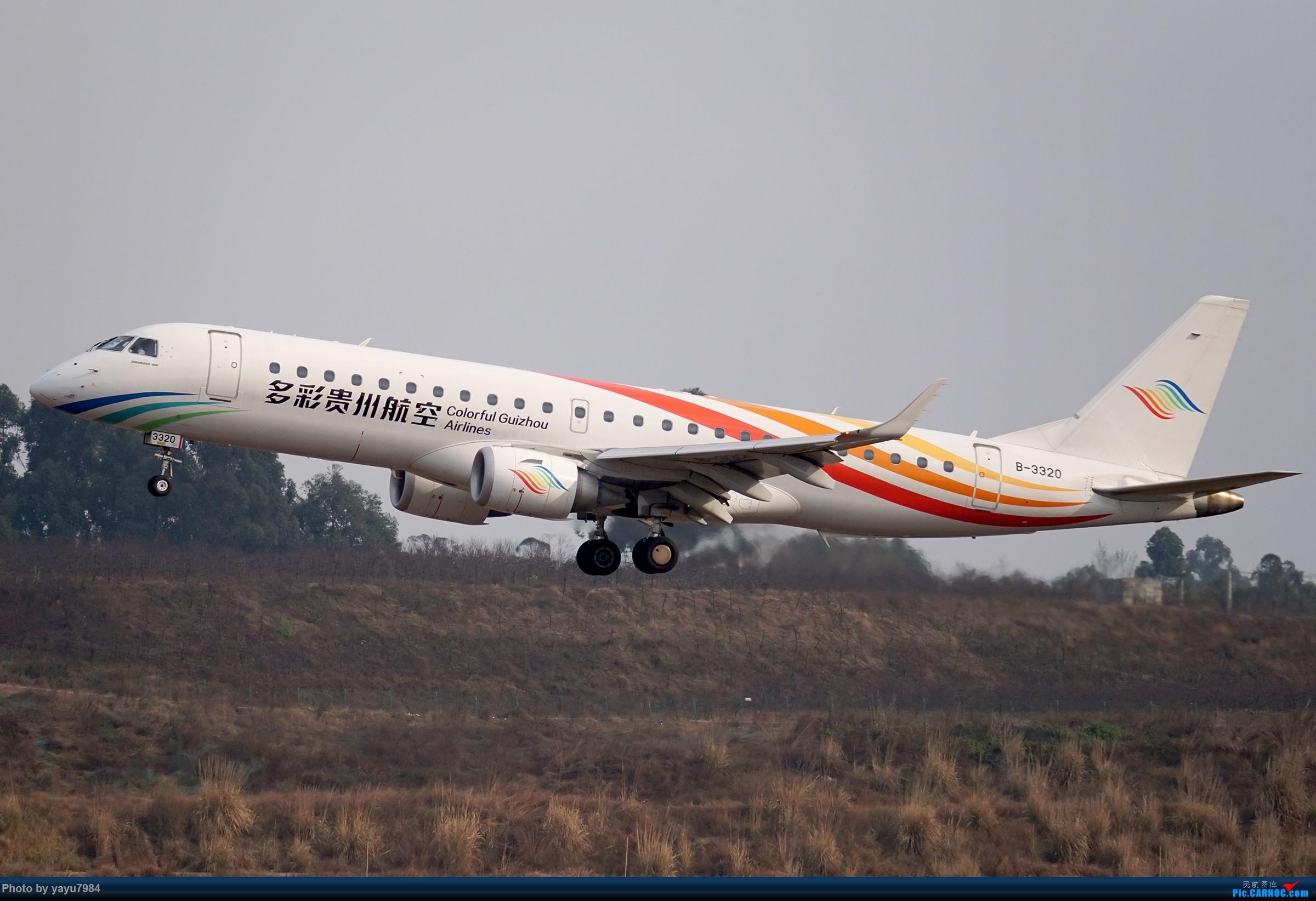 Re:[CTU] 成卢兹02R拍机集锦 EMBRAER E-190 B-3320 中国成都双流国际机场