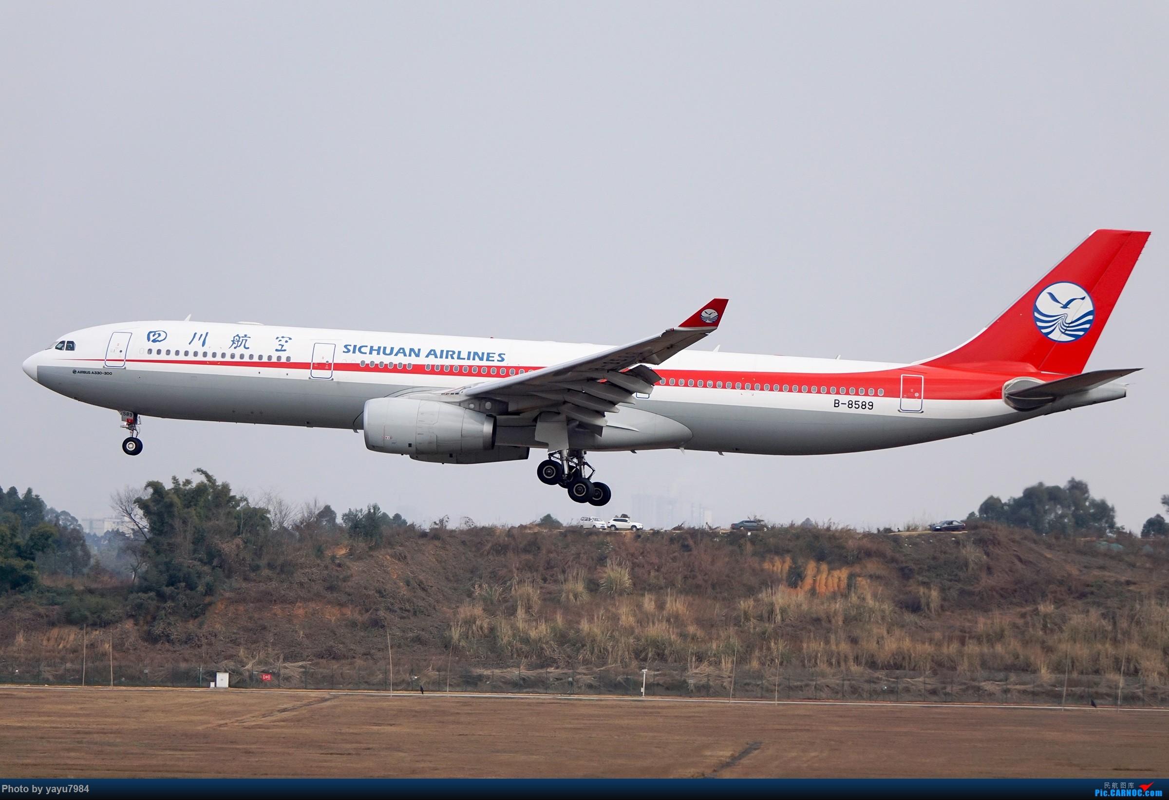 Re:[原创][CTU] 成卢兹02R拍机集锦 AIRBUS A330-300 B-8589 中国成都双流国际机场