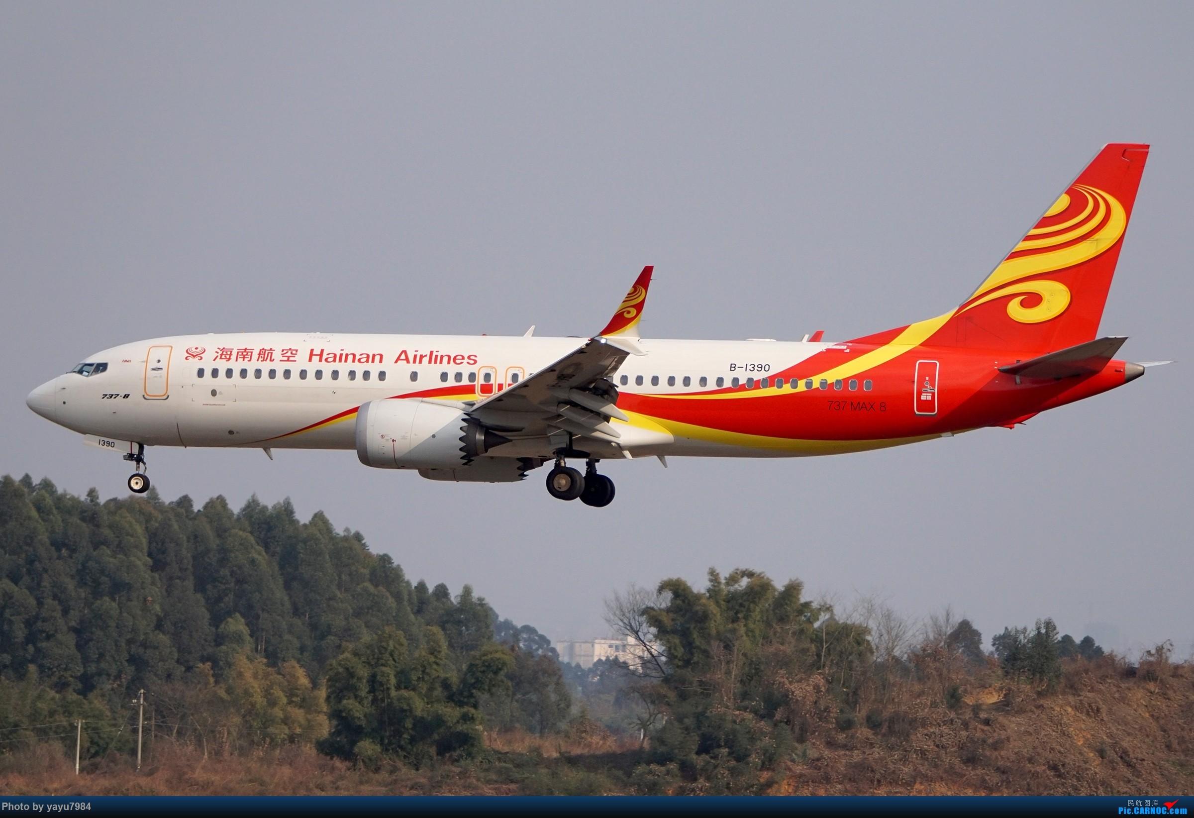 Re:[原创][CTU] 成卢兹02R拍机集锦 BOEING 737MAX-8 B-1390 中国成都双流国际机场