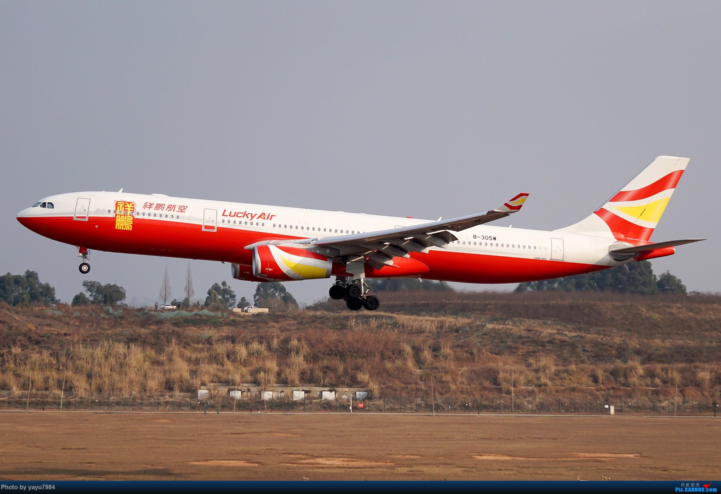 Re:[原创][CTU] 成卢兹02R拍机集锦 AIRBUS A330-300 B-305W 中国成都双流国际机场