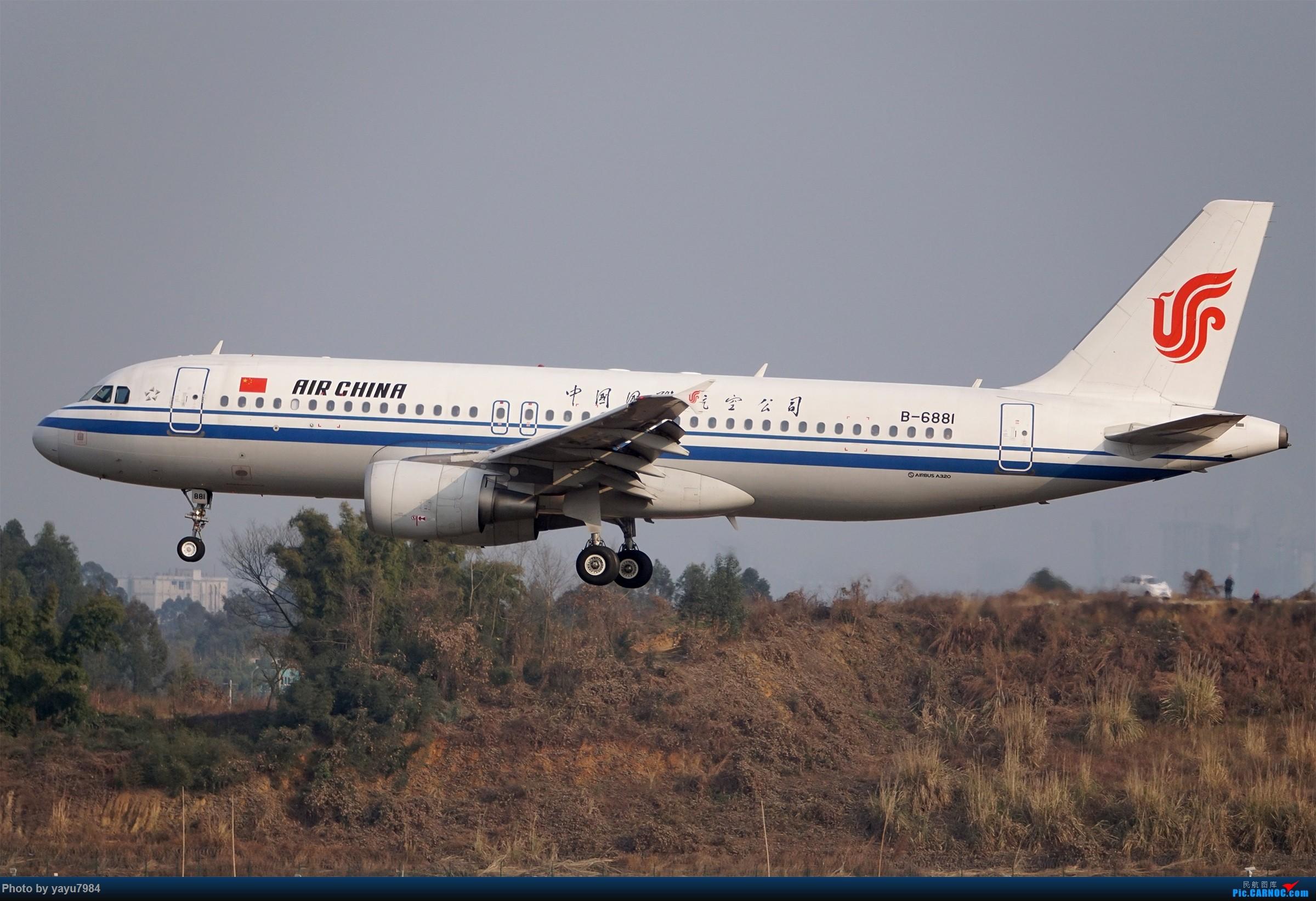 Re:[原创][CTU] 成卢兹02R拍机集锦 AIRBUS A320-200 B-6881 中国成都双流国际机场
