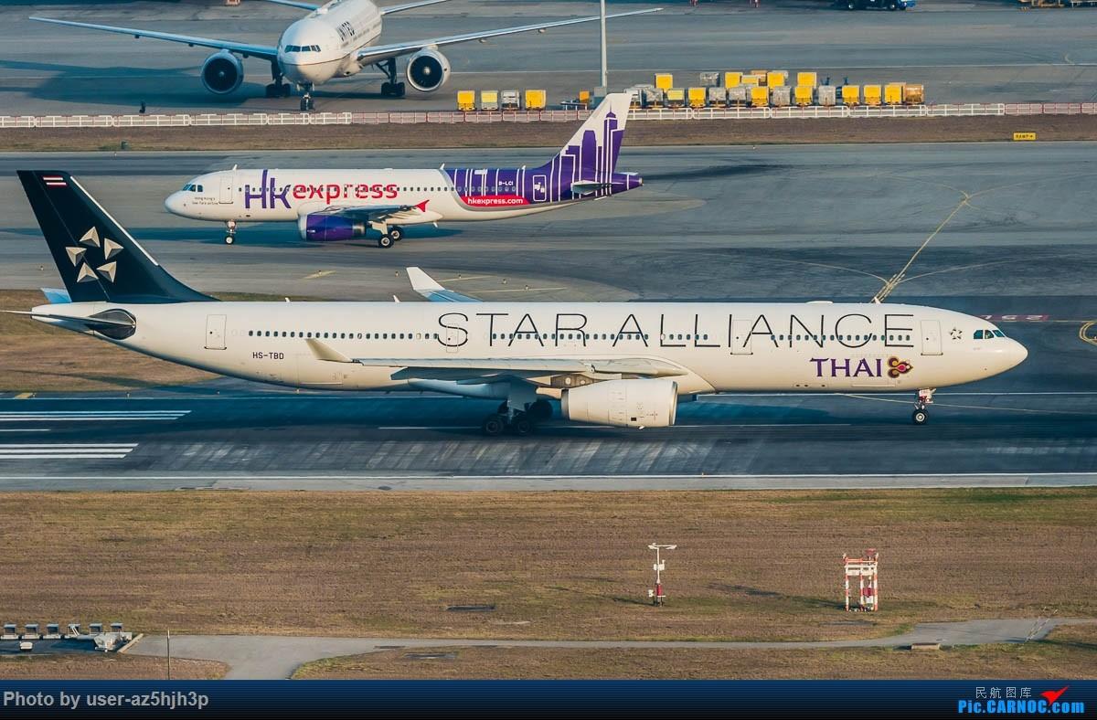 [原创]沙螺湾拍地面飞机 AIRBUS A330-300 HS-TBD 香港国际机场