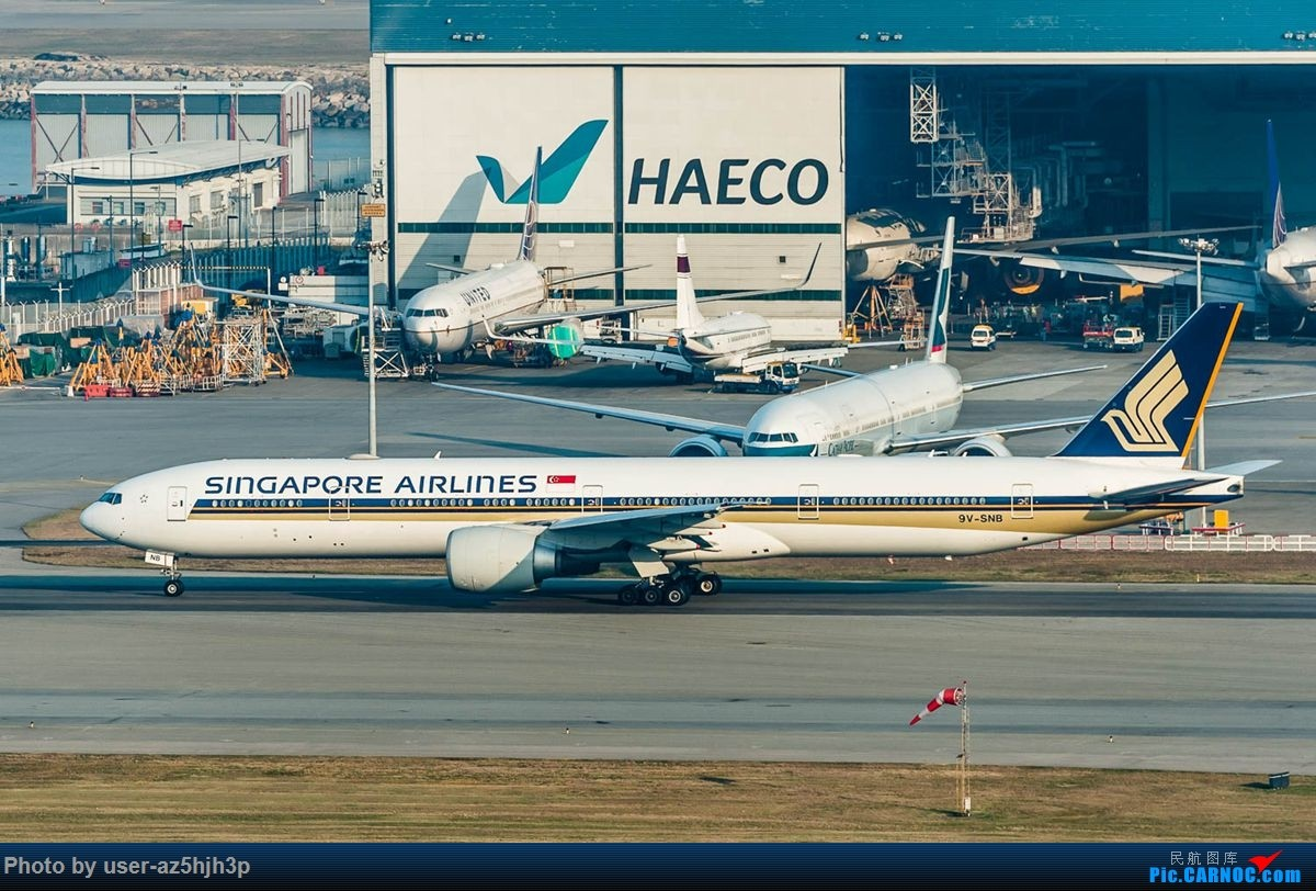 Re:[原创]沙螺湾拍地面飞机 BOEING 777-300ER 9V-SNB 香港国际机场