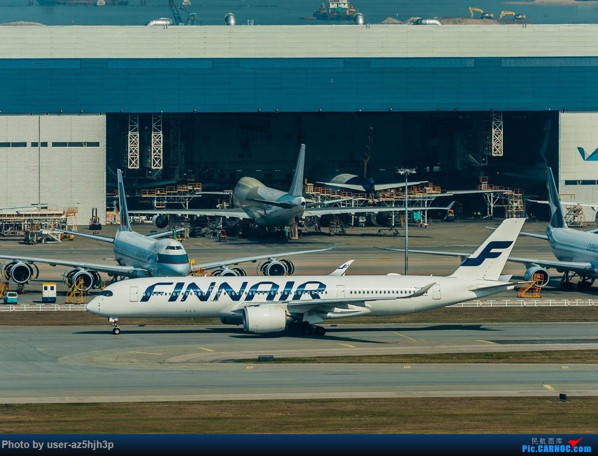 Re:[原创]沙螺湾拍地面飞机 AIRBUS A350-900 OH-LWE 香港国际机场