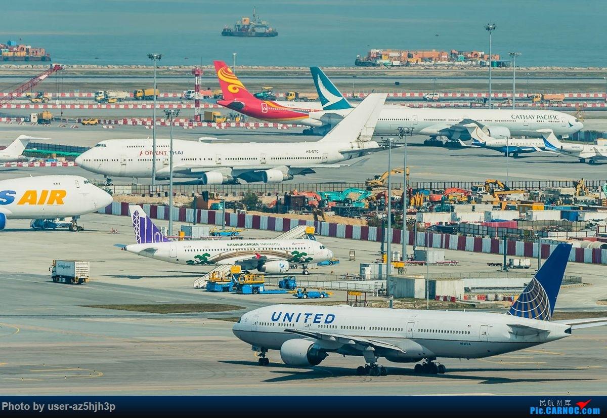 Re:[原创]沙螺湾拍地面飞机 BOEING 777-200 N787UA 香港国际机场