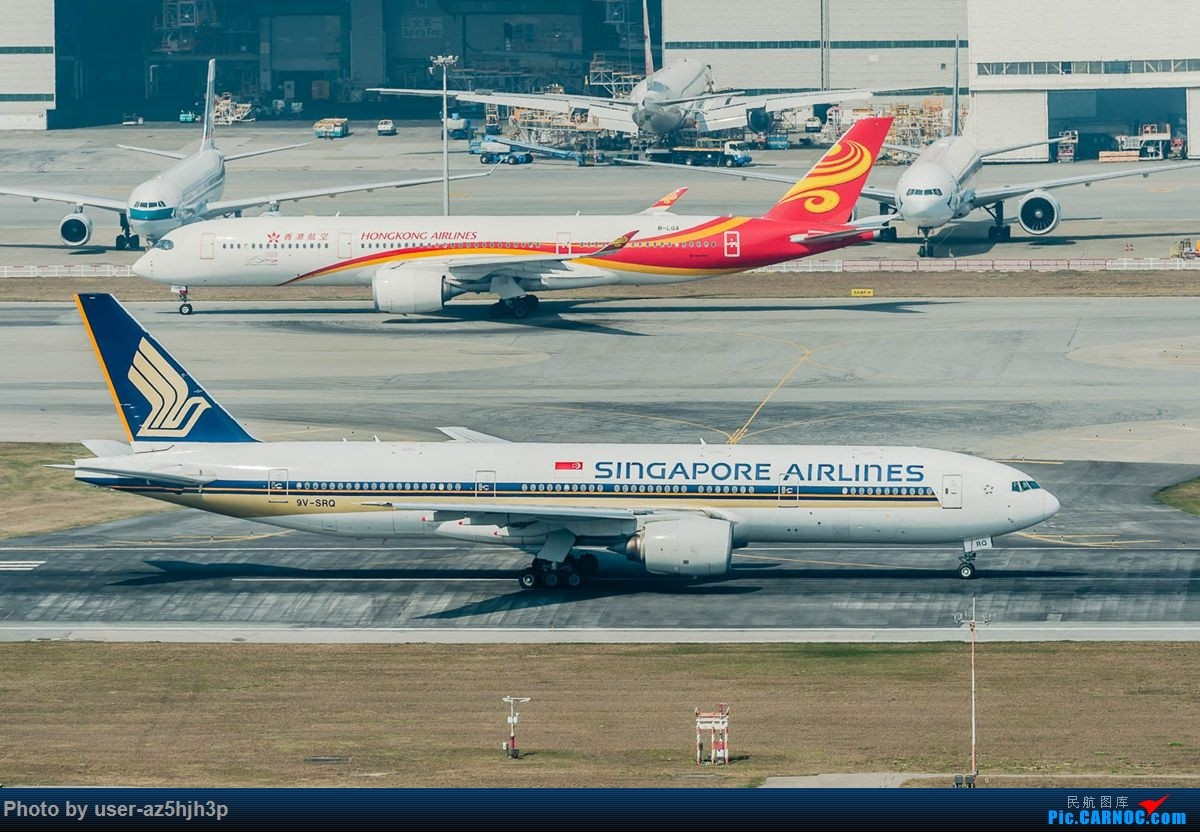Re:[原创]沙螺湾拍地面飞机 BOEING 777-200 9V-SRQ 香港国际机场