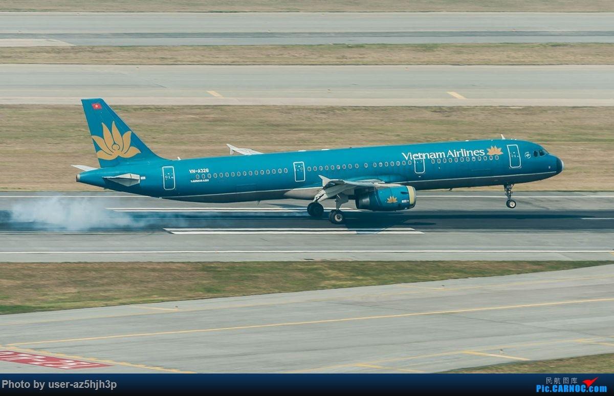 Re:[原创]沙螺湾拍地面飞机 AIRBUS A321 VN-A326 香港国际机场
