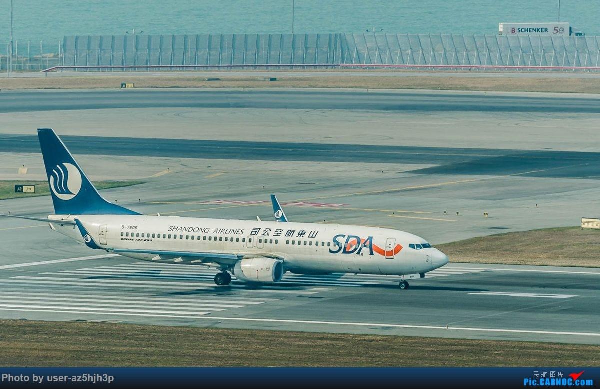Re:[原创]沙螺湾拍地面飞机 BOEING 737-800 B-7806 香港国际机场
