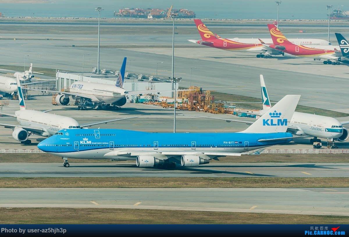 Re:[原创]沙螺湾拍地面飞机 BOEING 77-400 PH-BFT 香港国际机场