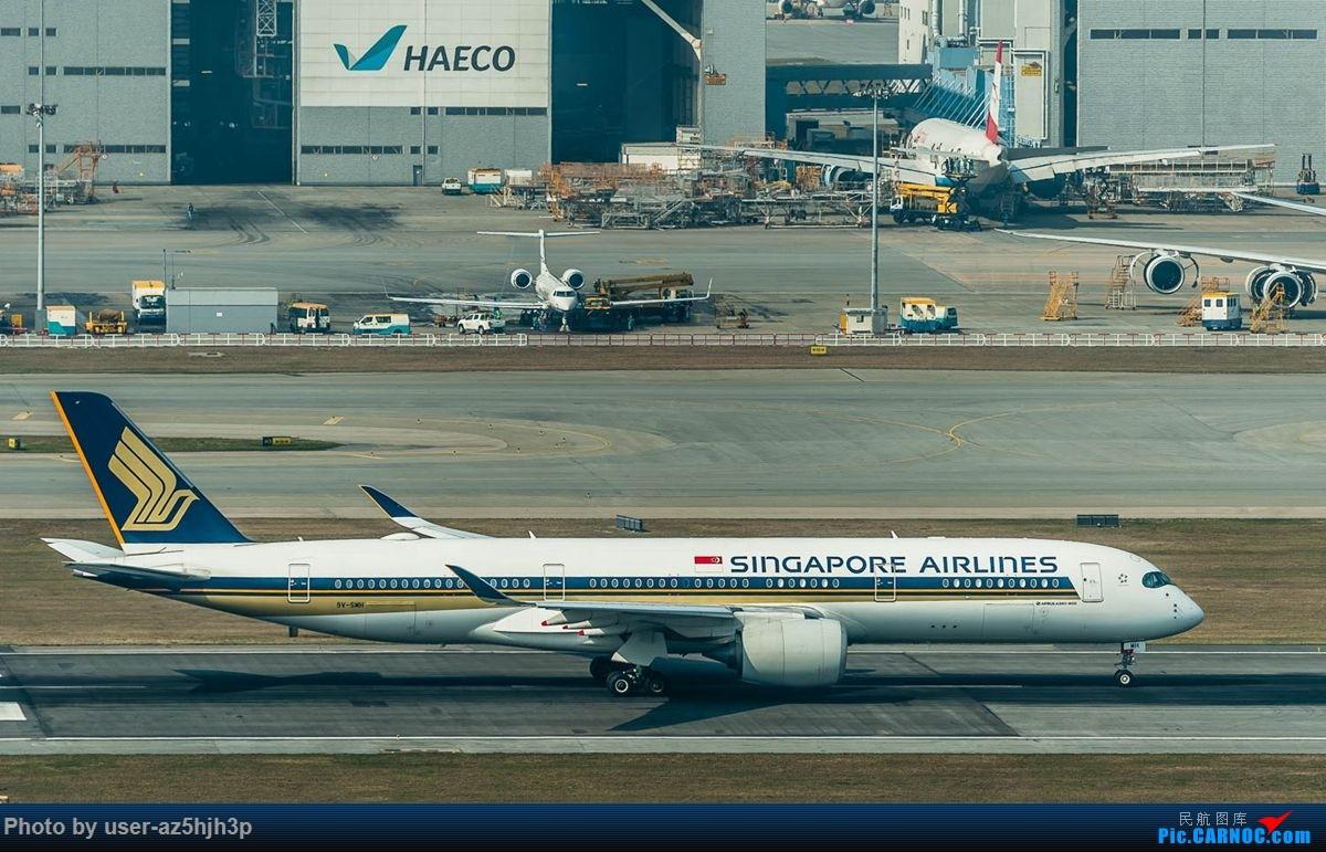 Re:[原创]沙螺湾拍地面飞机 AIRBUS A350-900 9V-SMH 香港国际机场