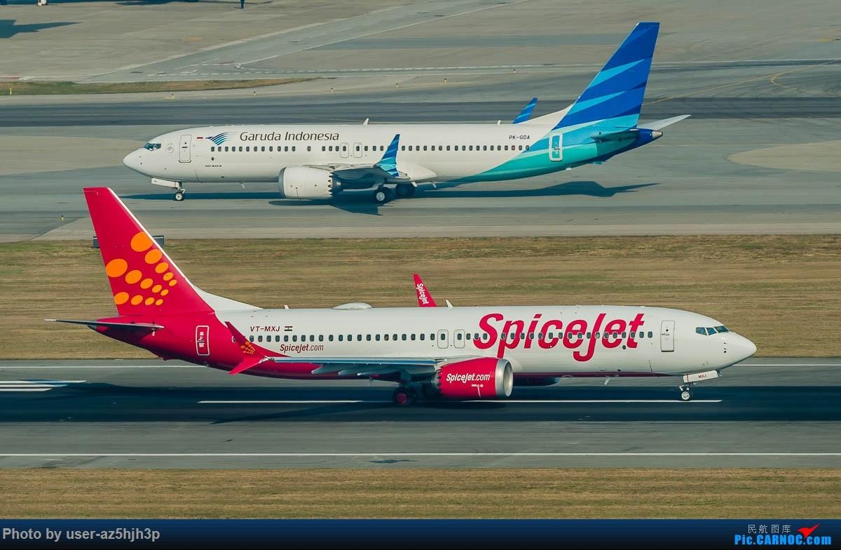Re:[原创]沙螺湾拍地面飞机 BOEING 737MAX8 VT-MXJ 香港国际机场